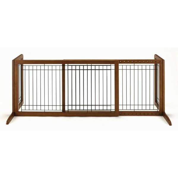 Freestanding Pet Gate Size: Large (20.1