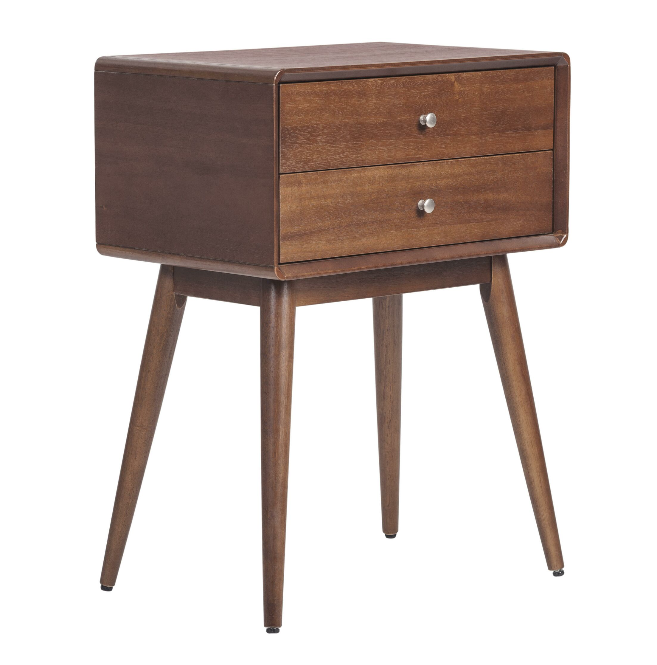 Rory End Table Color: Modern Amber 2 Drawer