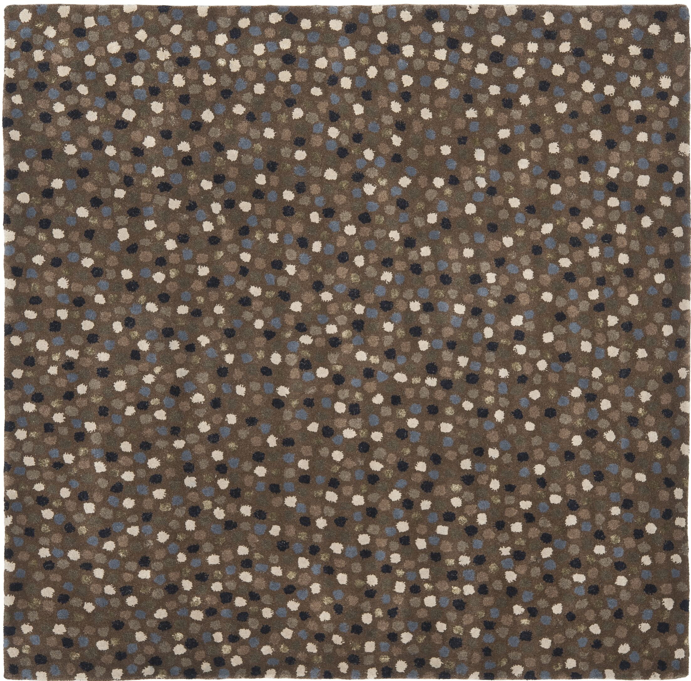 Lockwood Dark Grey Area Rug Rug Size: Square 6'
