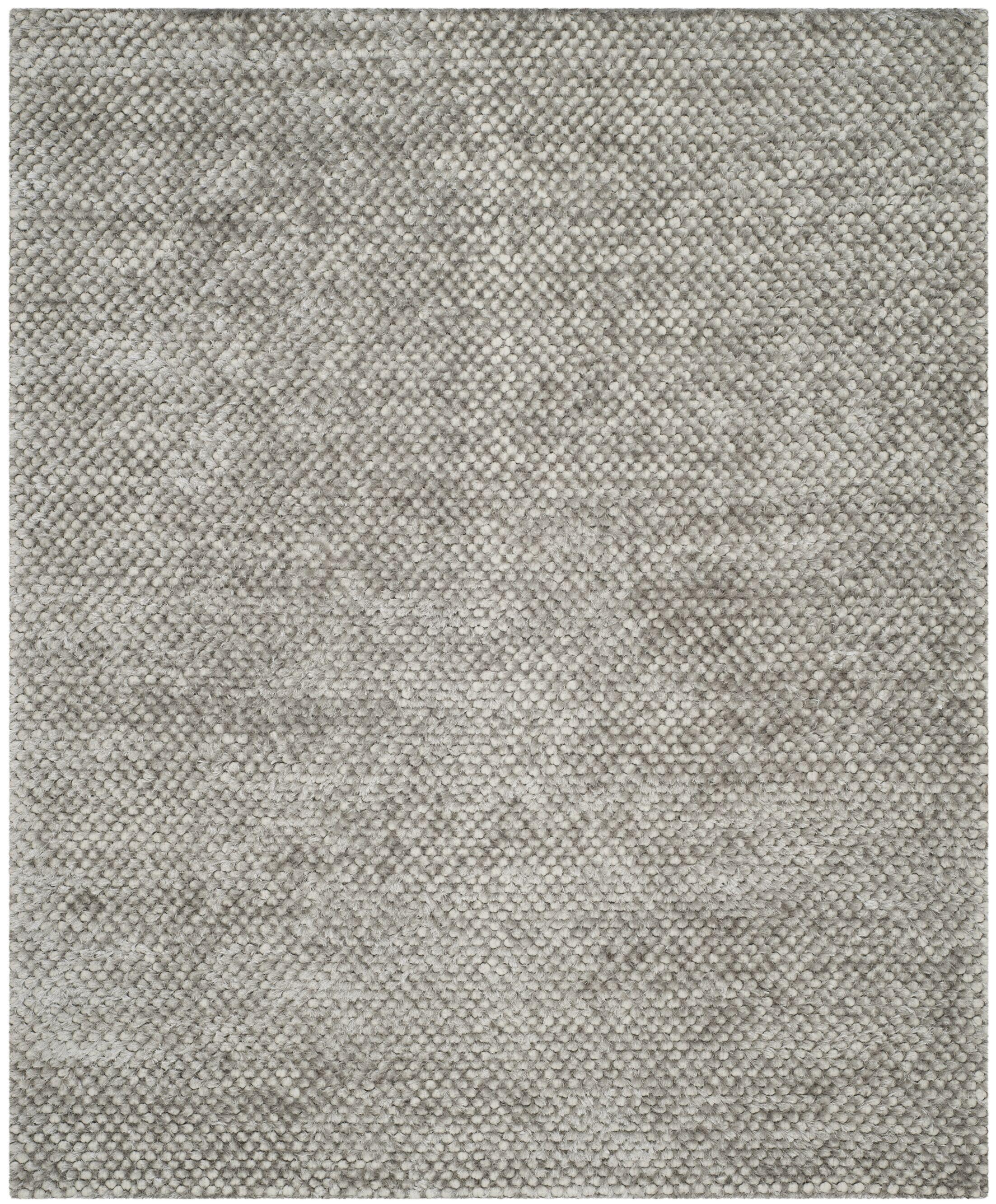 Maya Silver Rug Rug Size: Rectangle 8' x 10'