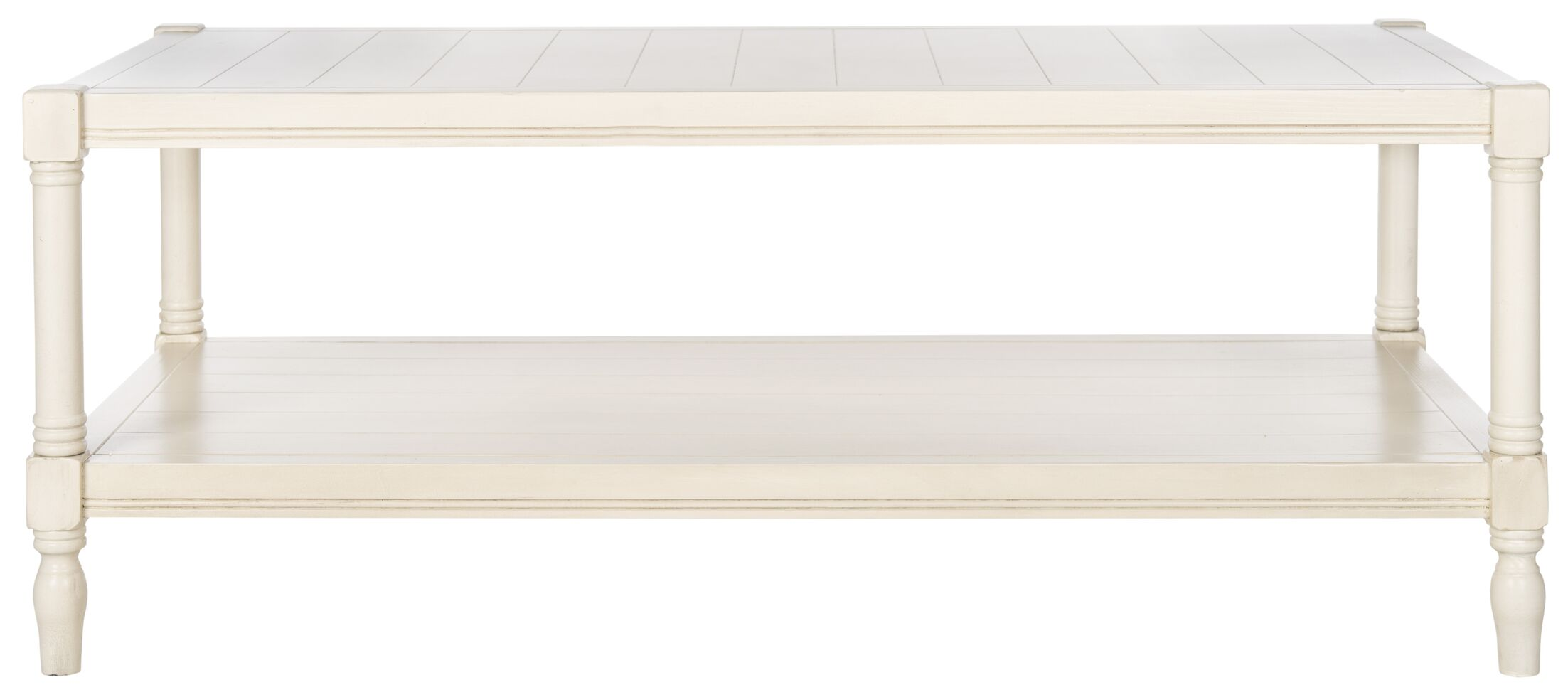 Rackers Coffee Table Color: Off-White