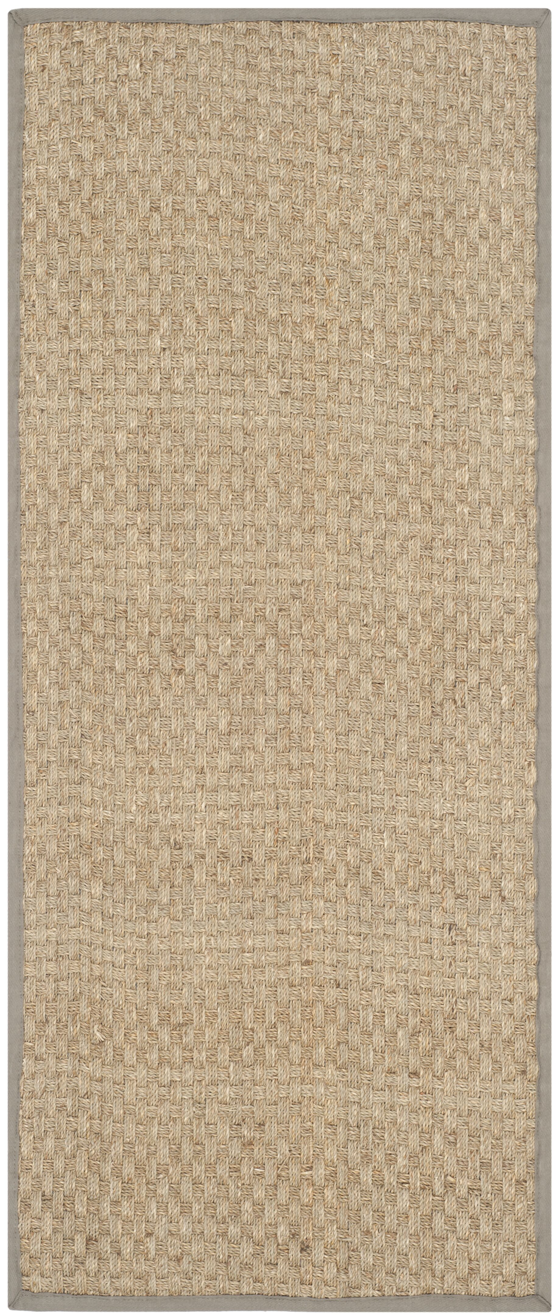 Richmond Natural/Brown Area Rug Rug Size: Runner 2'6