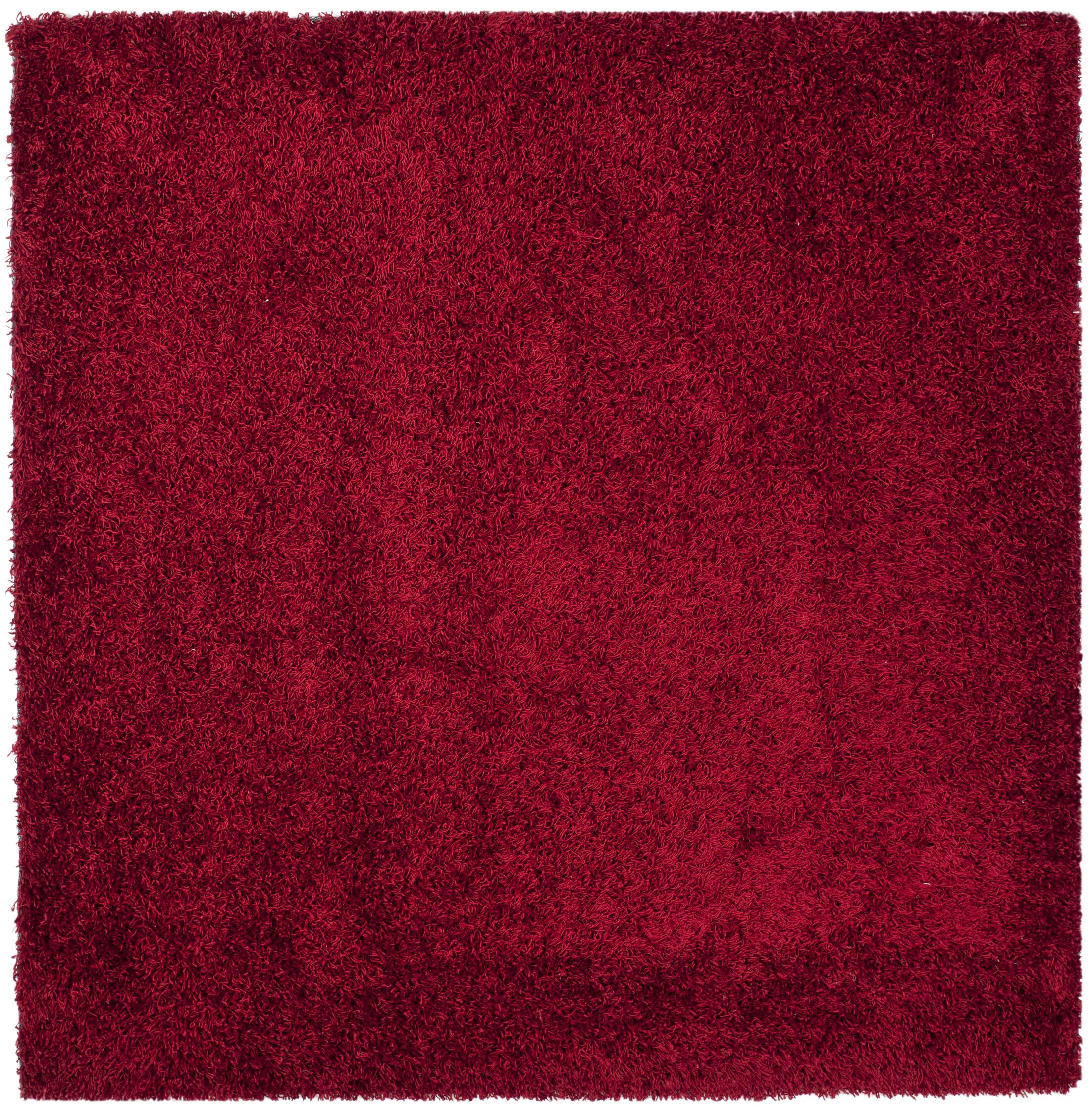 Starr Hill Red Area Rug Rug Size: Square 7'