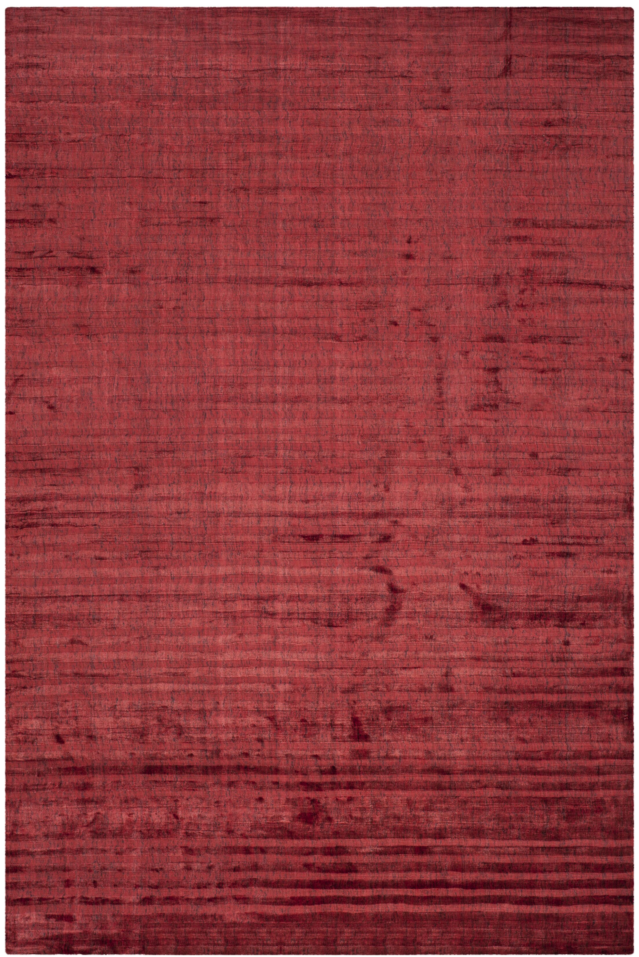Alaina Red Area Rug Rug Size: Rectangle 9' x 12'