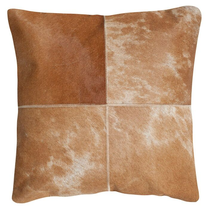 Selmacowhide Suede Throw Pillow Size: 22