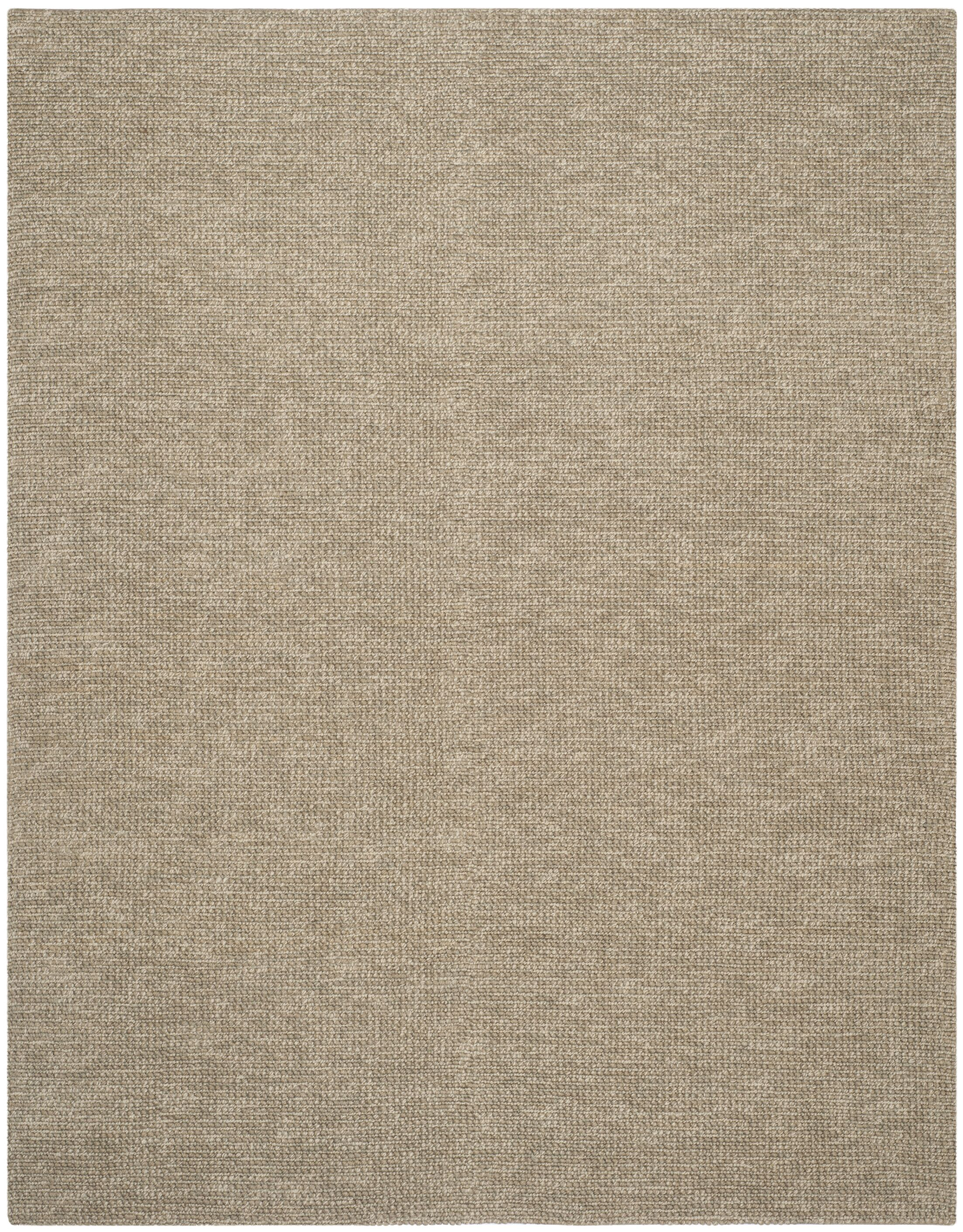 Nubby Tweed Hand woven Brown Area Rug Rug Size: Rectangle 8' x 10'