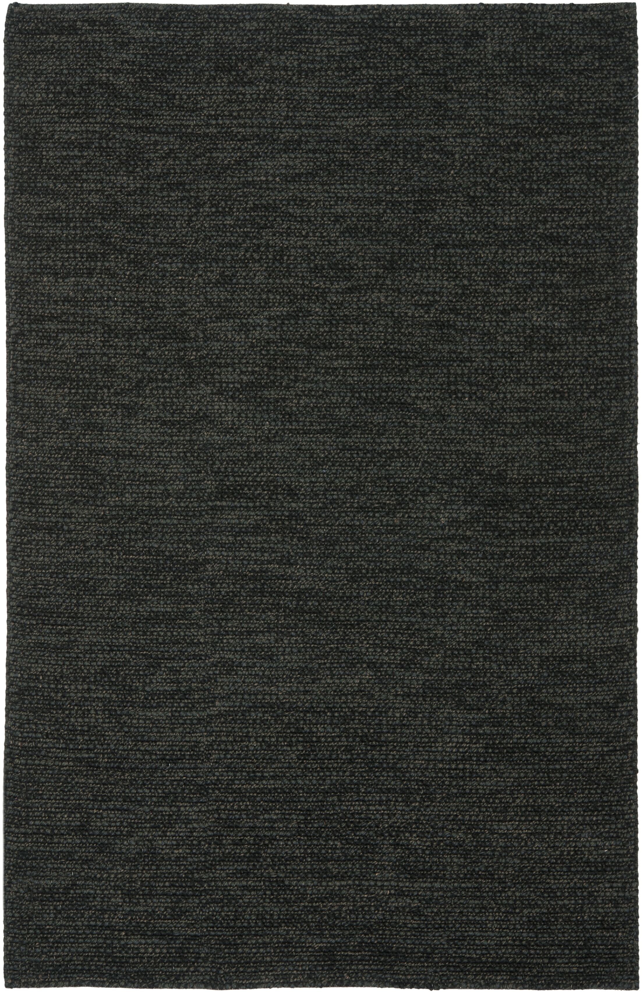Nubby Tweed Ebony Area Rug Rug Size: Rectangle 5' x 8'