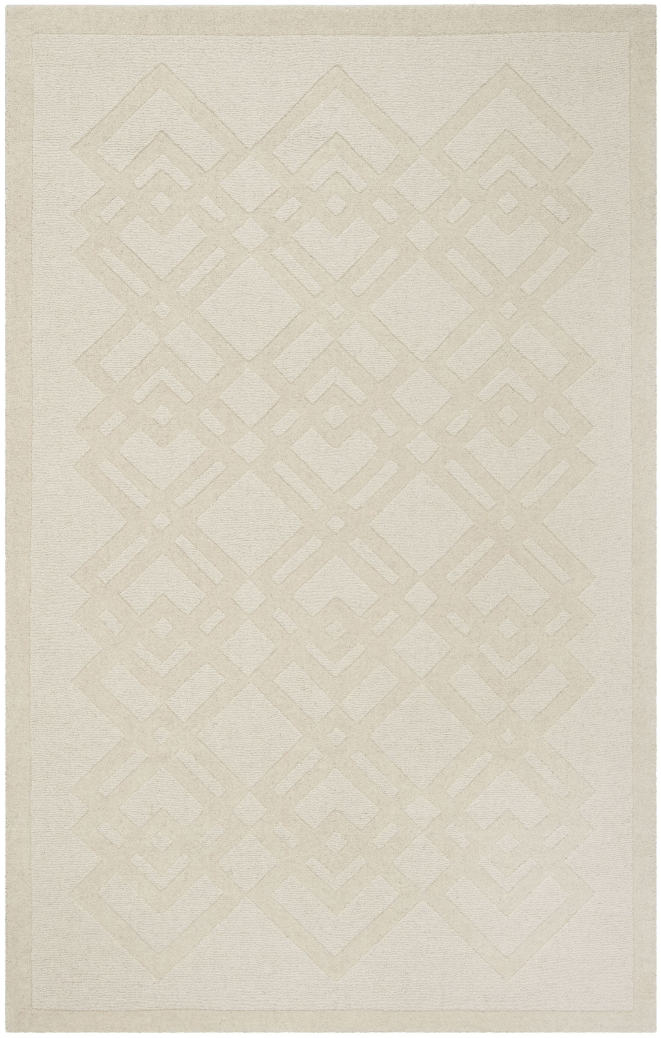 Viewpoint Carved Ivory Area Rug Rug Size: Rectangle 8' x 10'