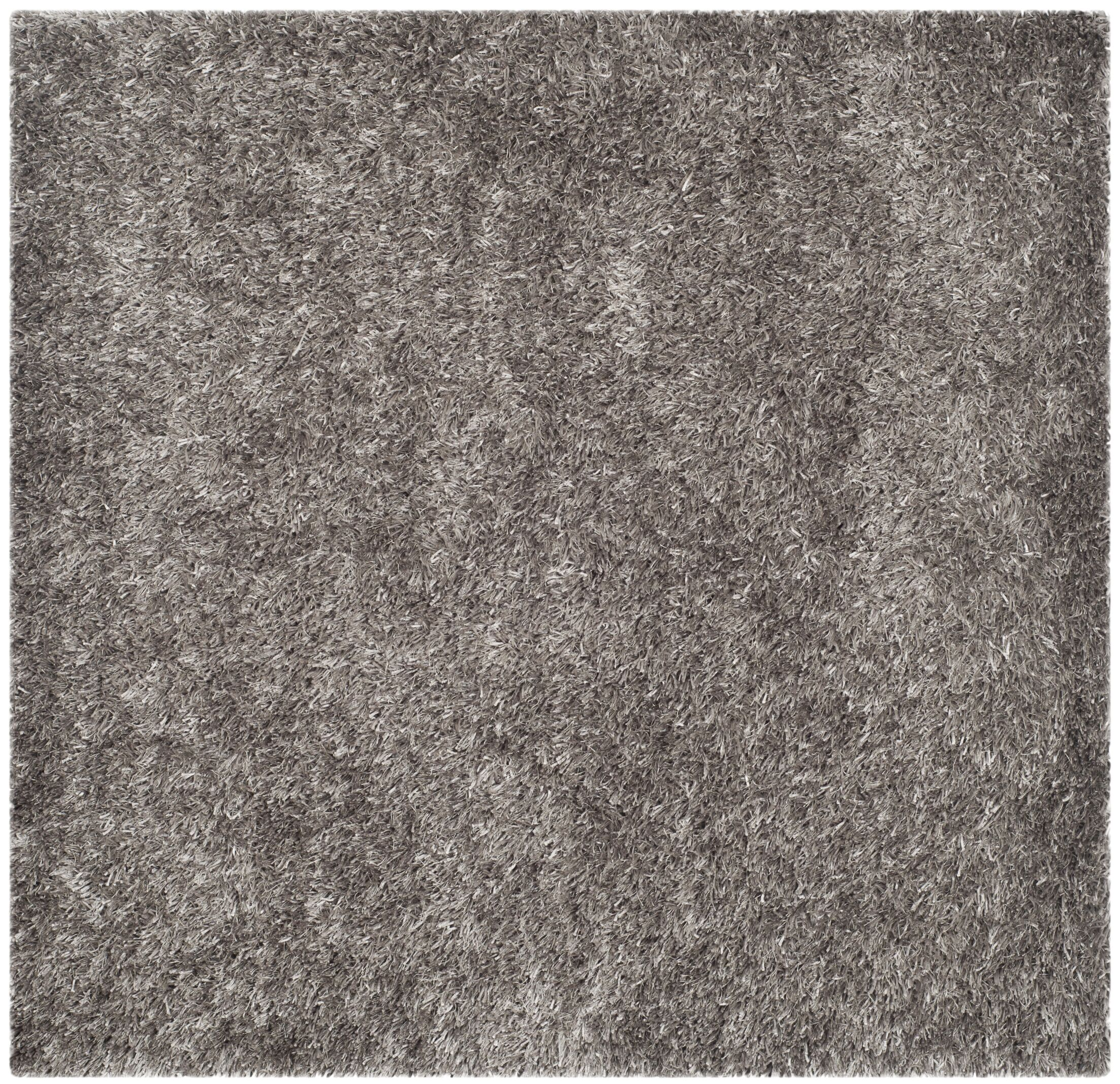 Cheevers Handmade Gray Area Rug Rug Size: Square 5'