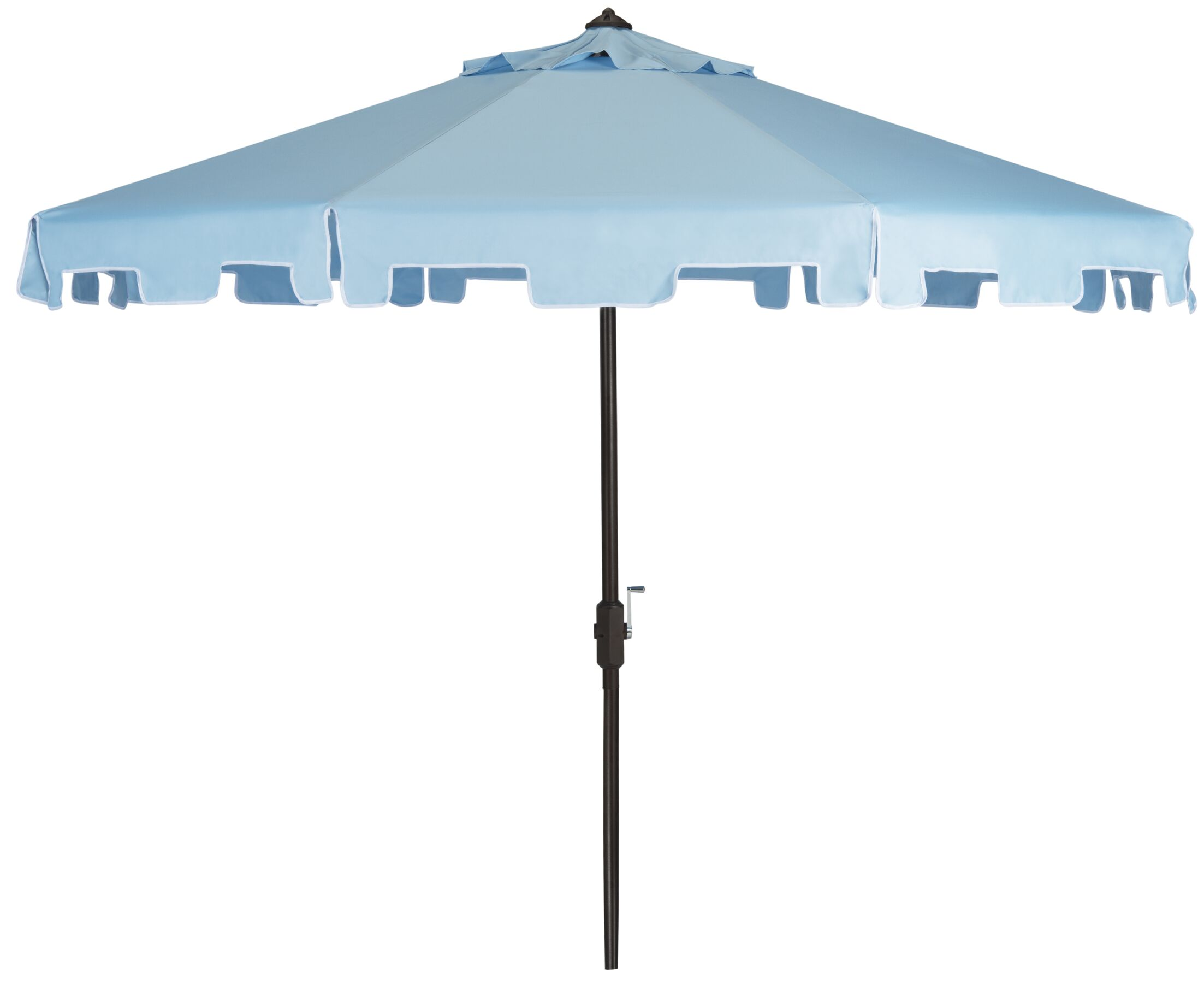 Marcell 9' Drape Umbrella Fabric: Blue