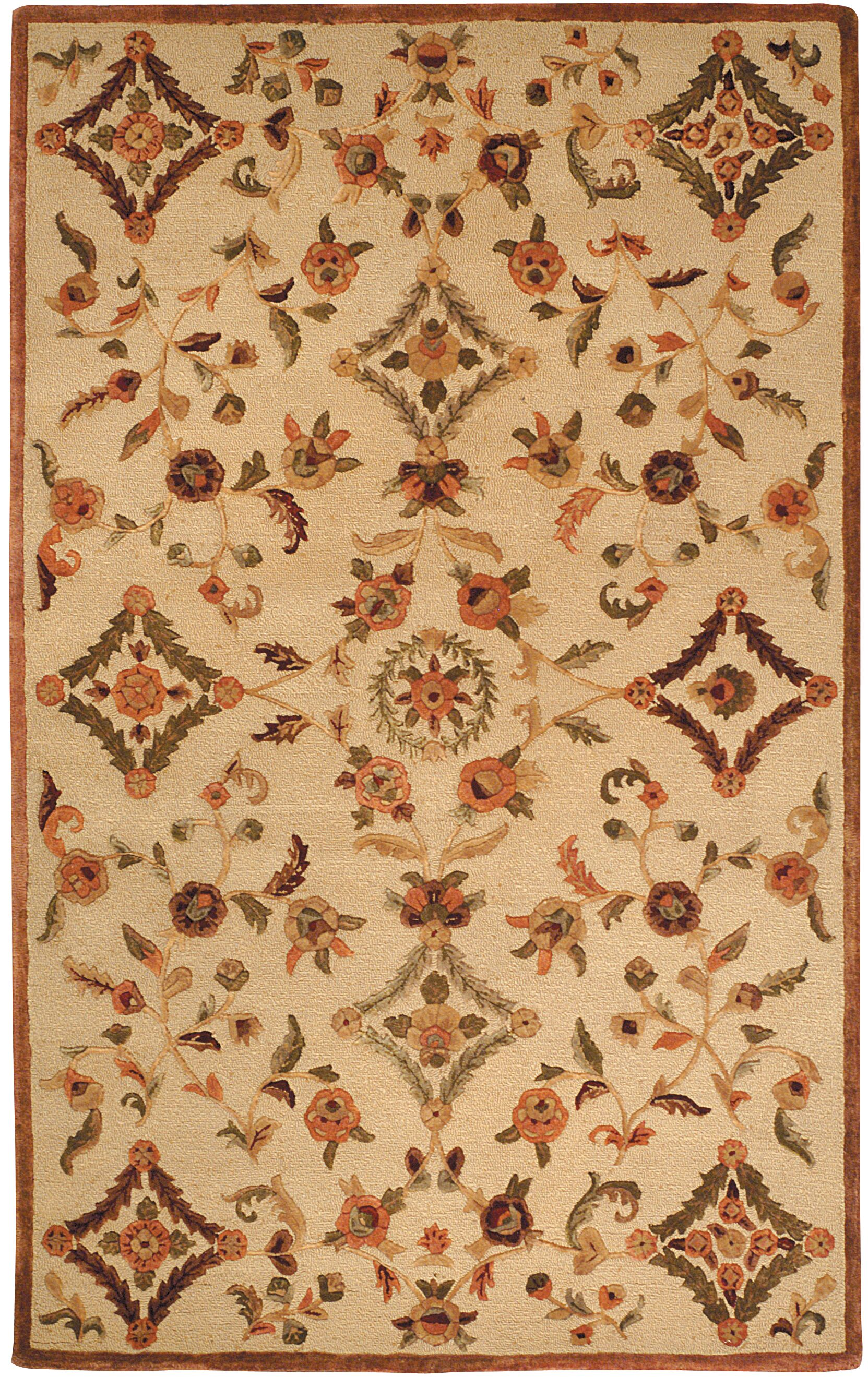 Imperial Hand-Tufted Brown Area Rug Rug Size: Rectangle 4' x 6'