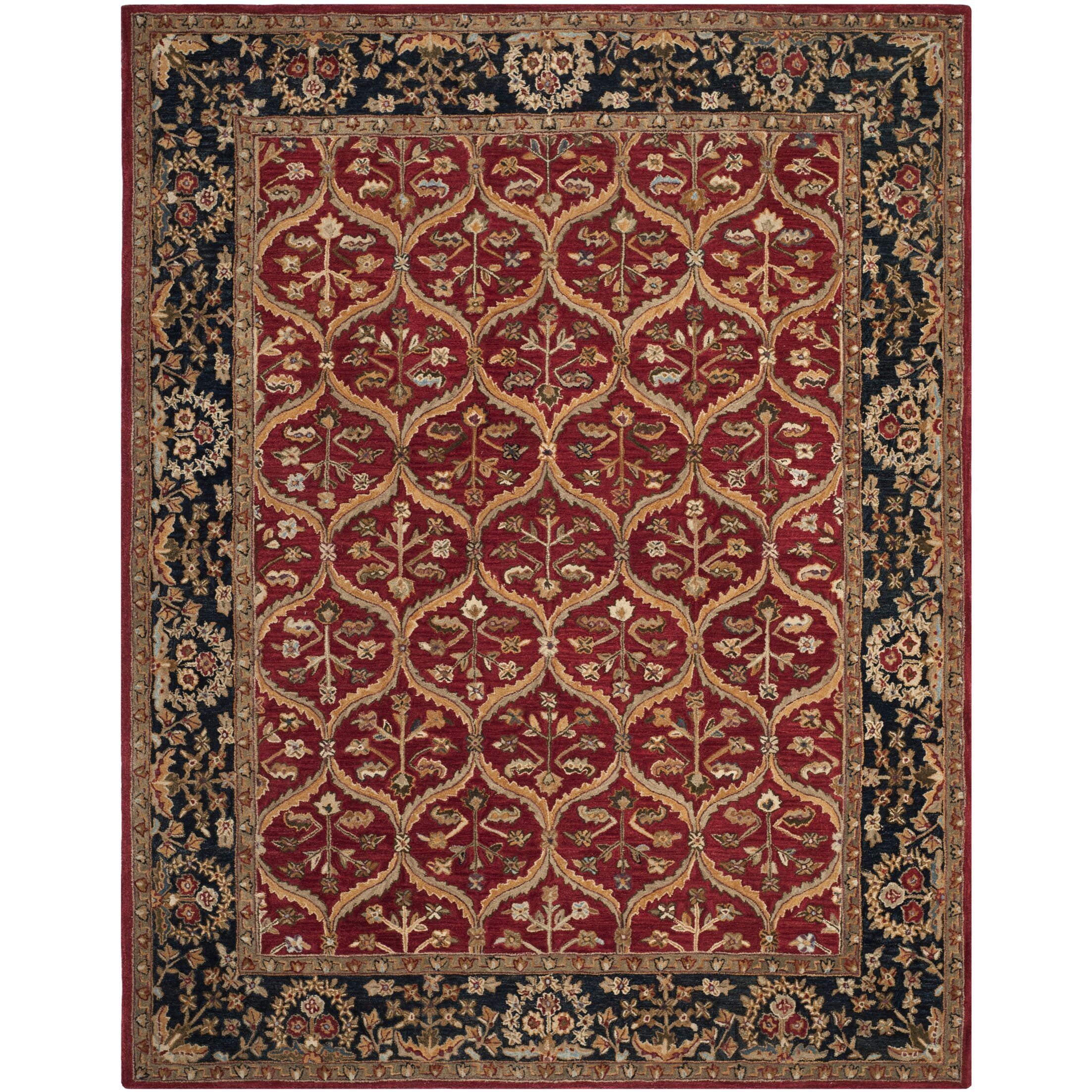 Anatolia Red Area Rug Rug Size: Rectangle 5' x 8'