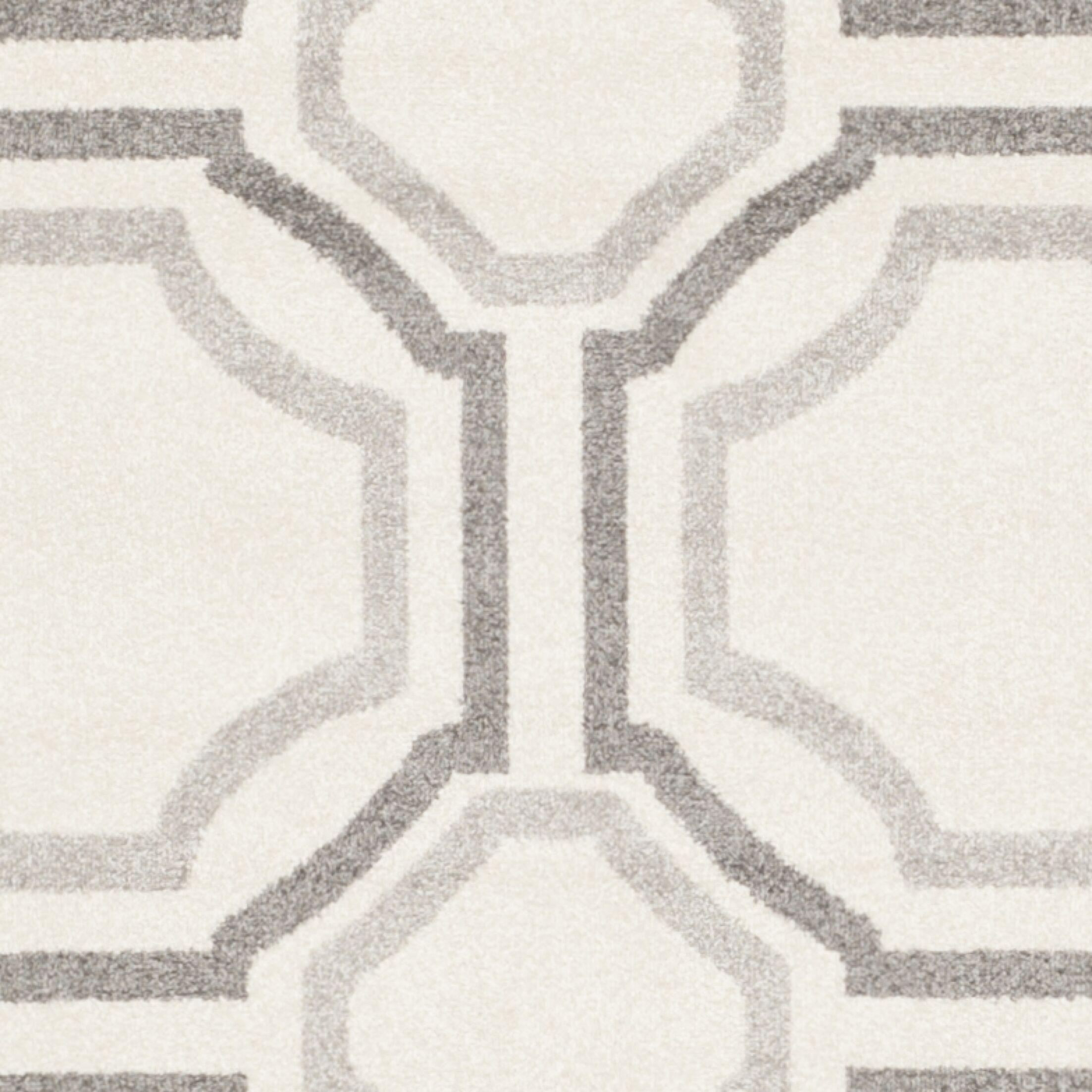 Maritza Ivory & Cream Area Rug Rug Size: Rectangle 8' x 10'
