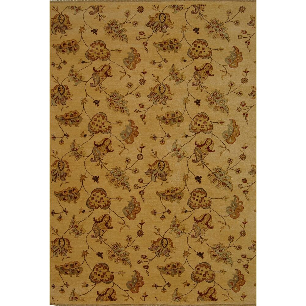 Agra Beige Area Rug Rug Size: Rectangle 3' x 5'