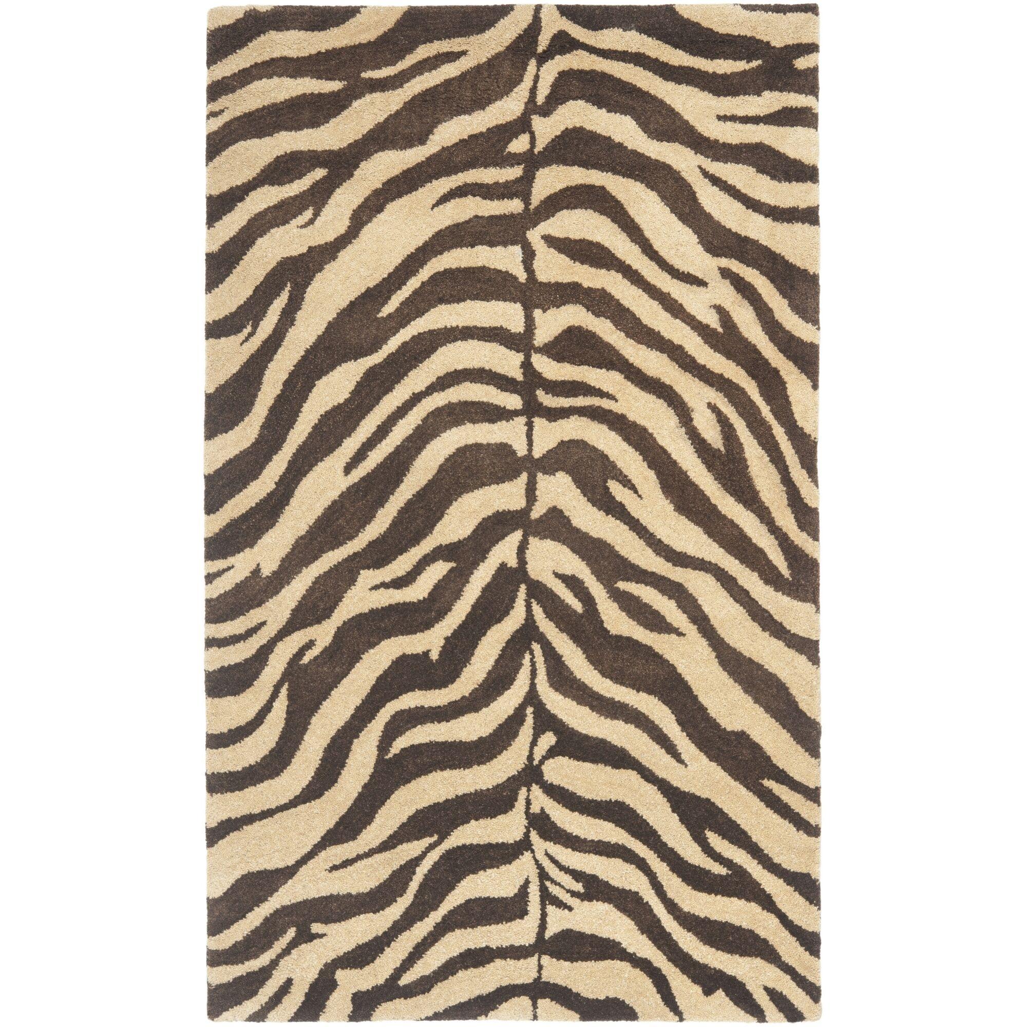 Bergama Beige/Brown Area Rug Rug Size: Rectangle 4' x 6'