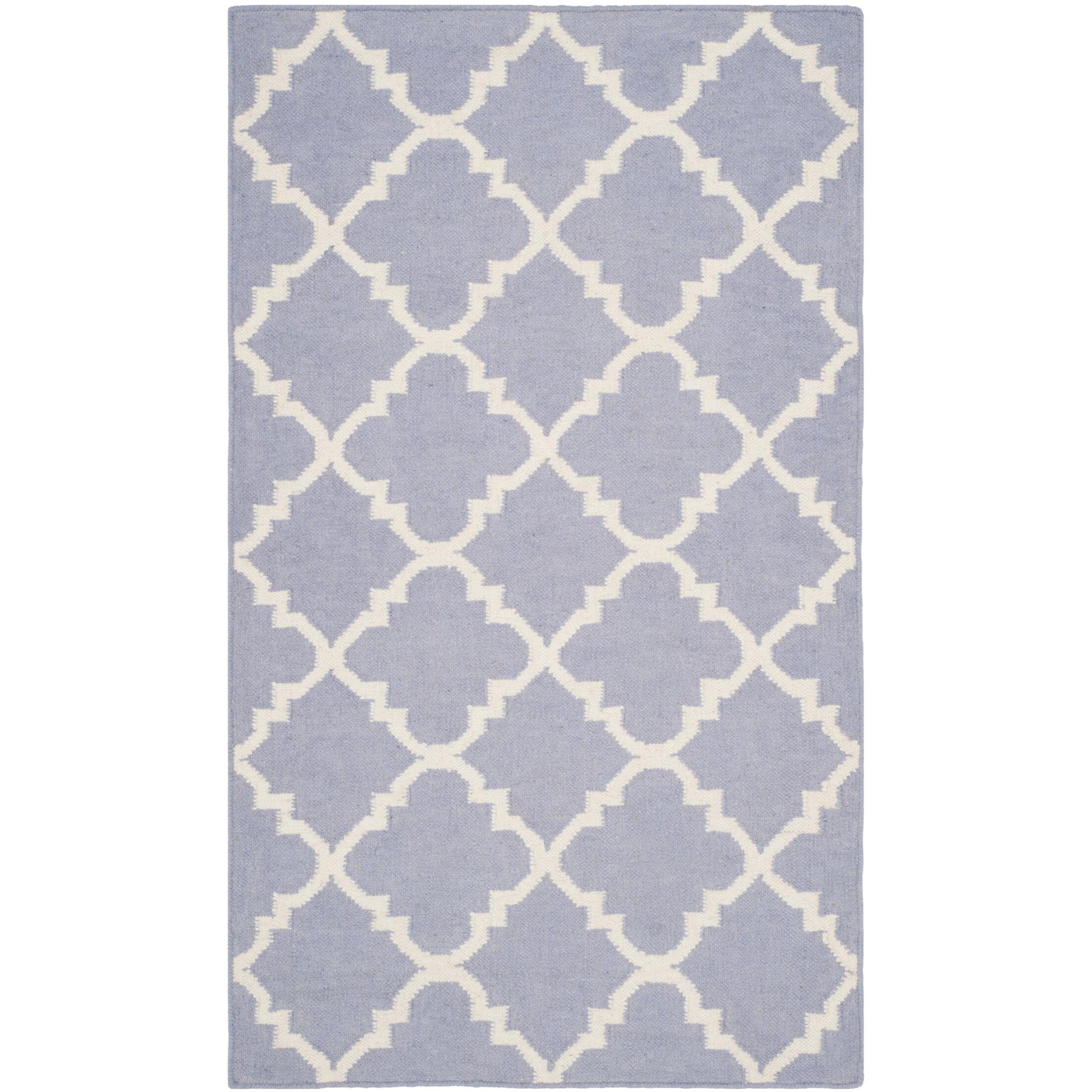 Purple/Ivory Area Rug Rug Size: Rectangle 5' x 8'