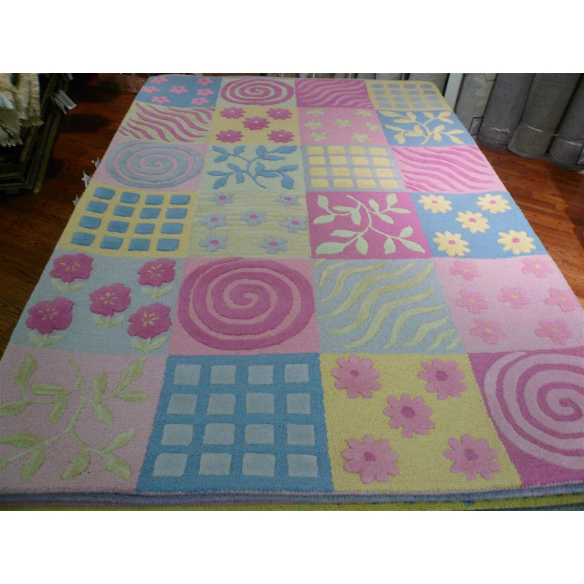 Claro Tufted Pink Area Rug Rug Size: Rectangle 5' x 8'