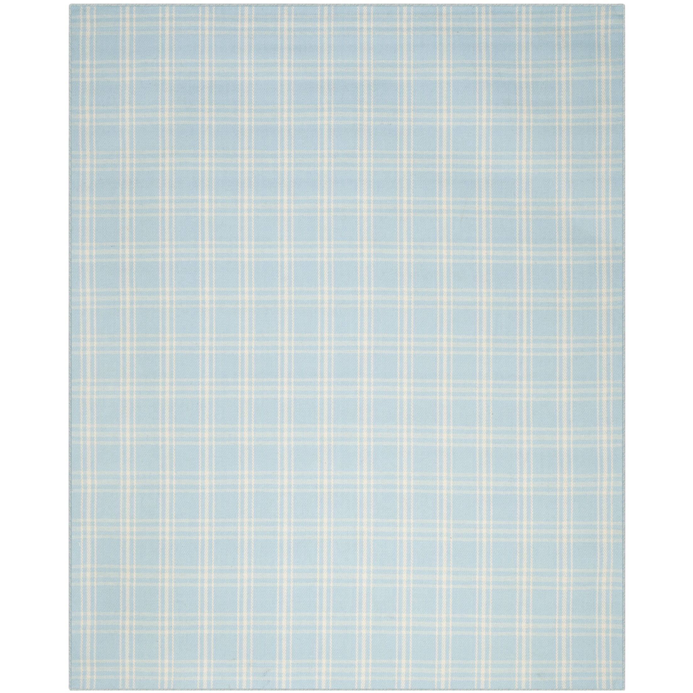 Kilim Light Blue / Beige Tribal Rug Rug Size: Rectangle 8' x 10'