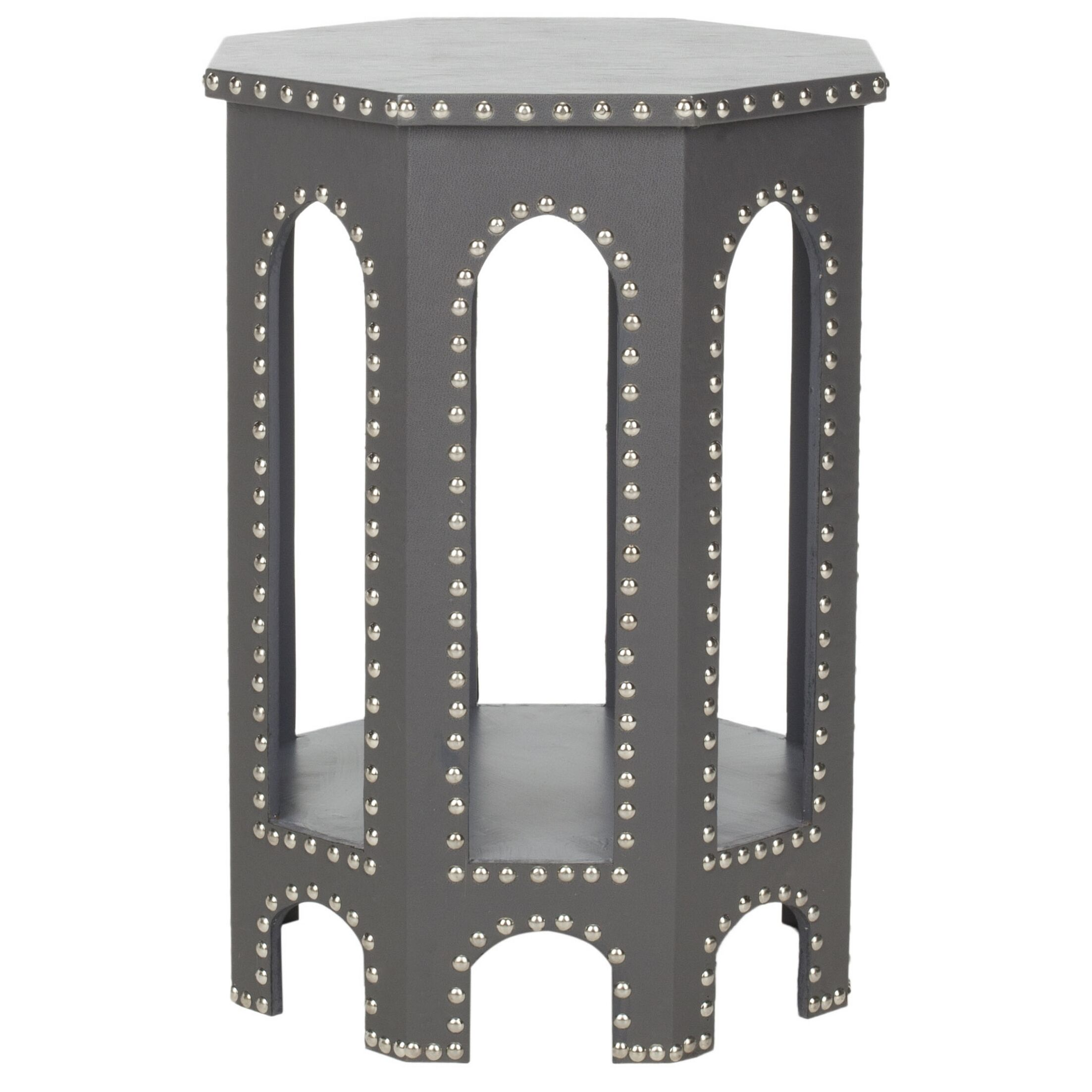 Nara Stool Color: Grey