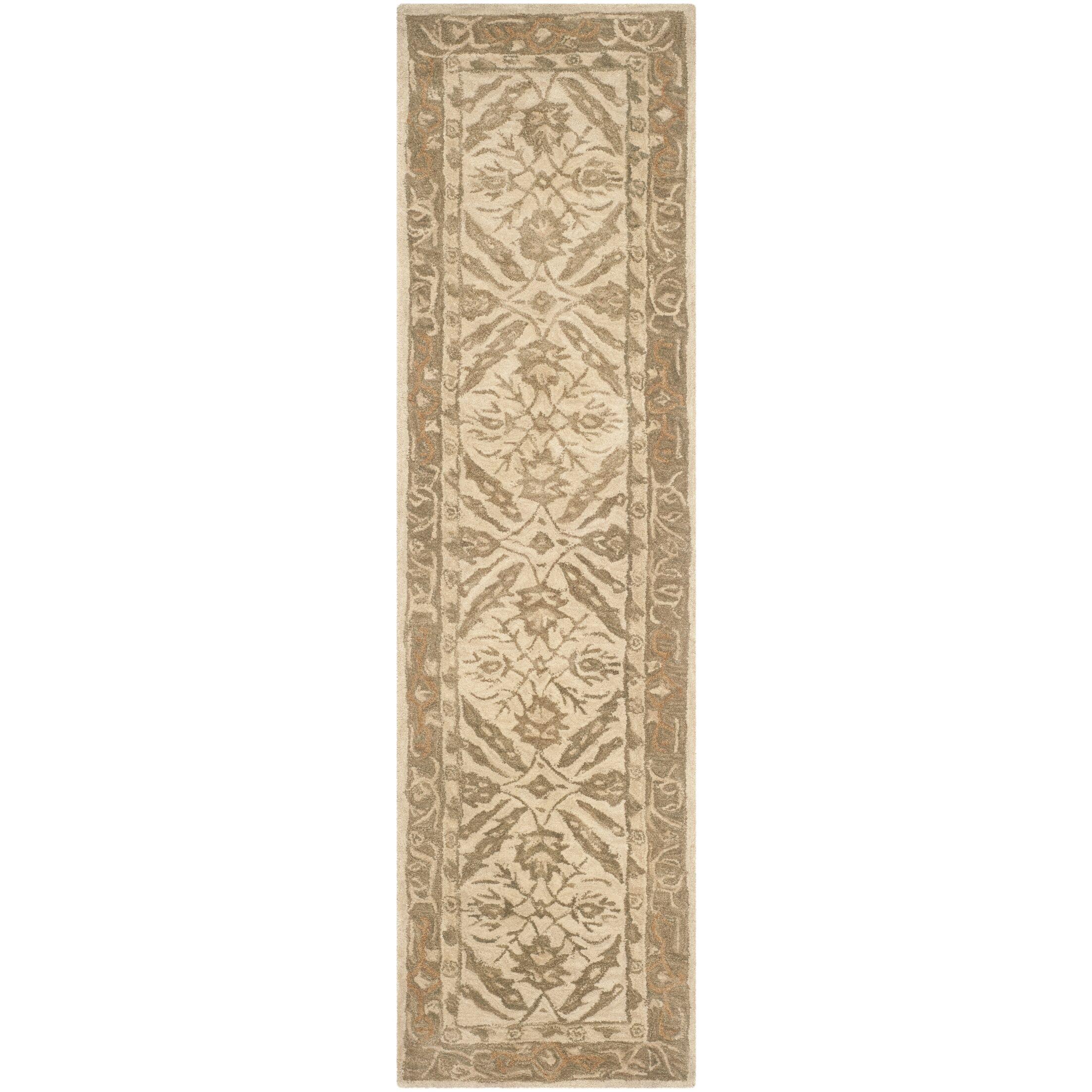 Anatolia Ivory Area Rug Rug Size: Runner 2'3