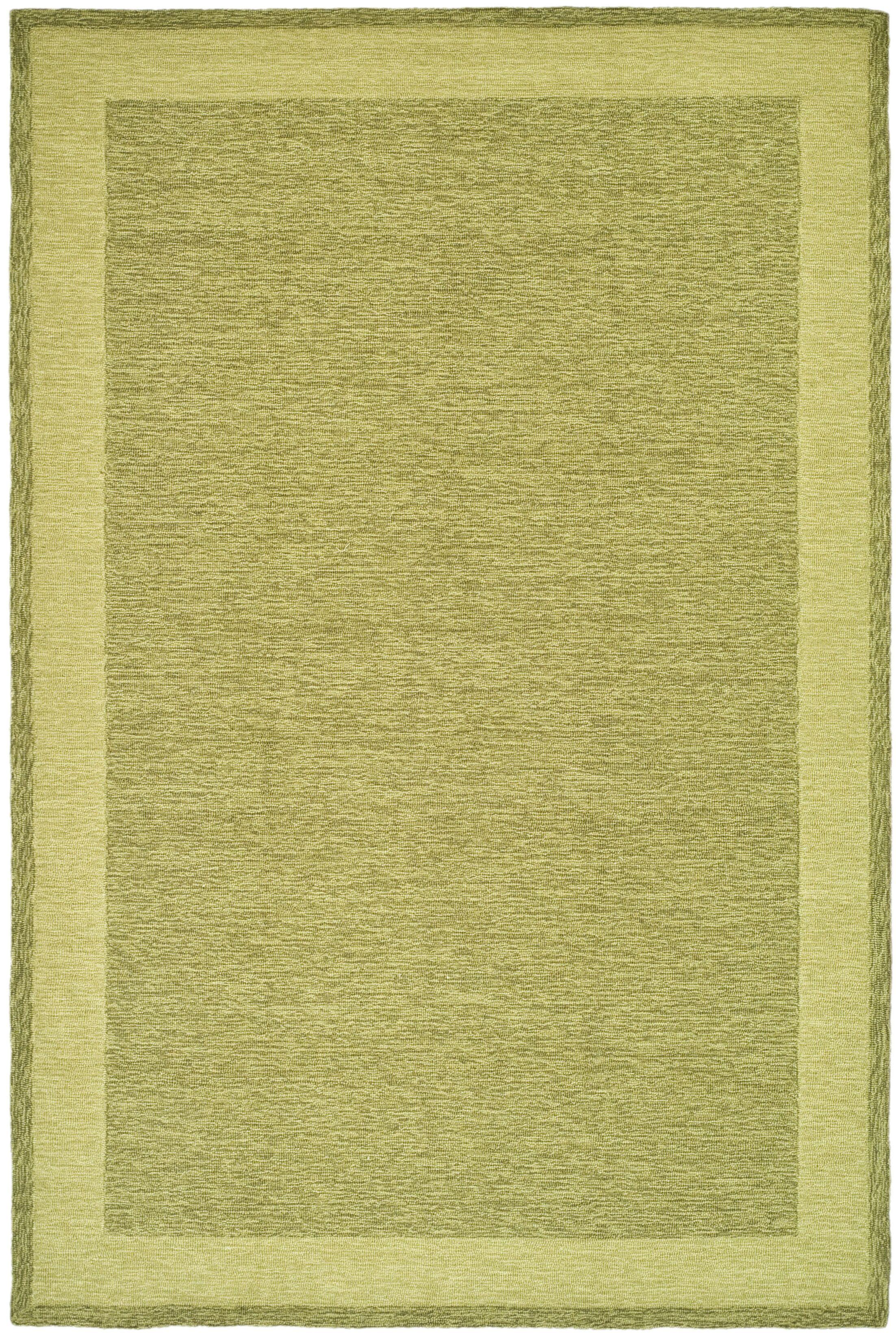 DuraRug Green Area Rug Rug Size: Rectangle 3' x 5'