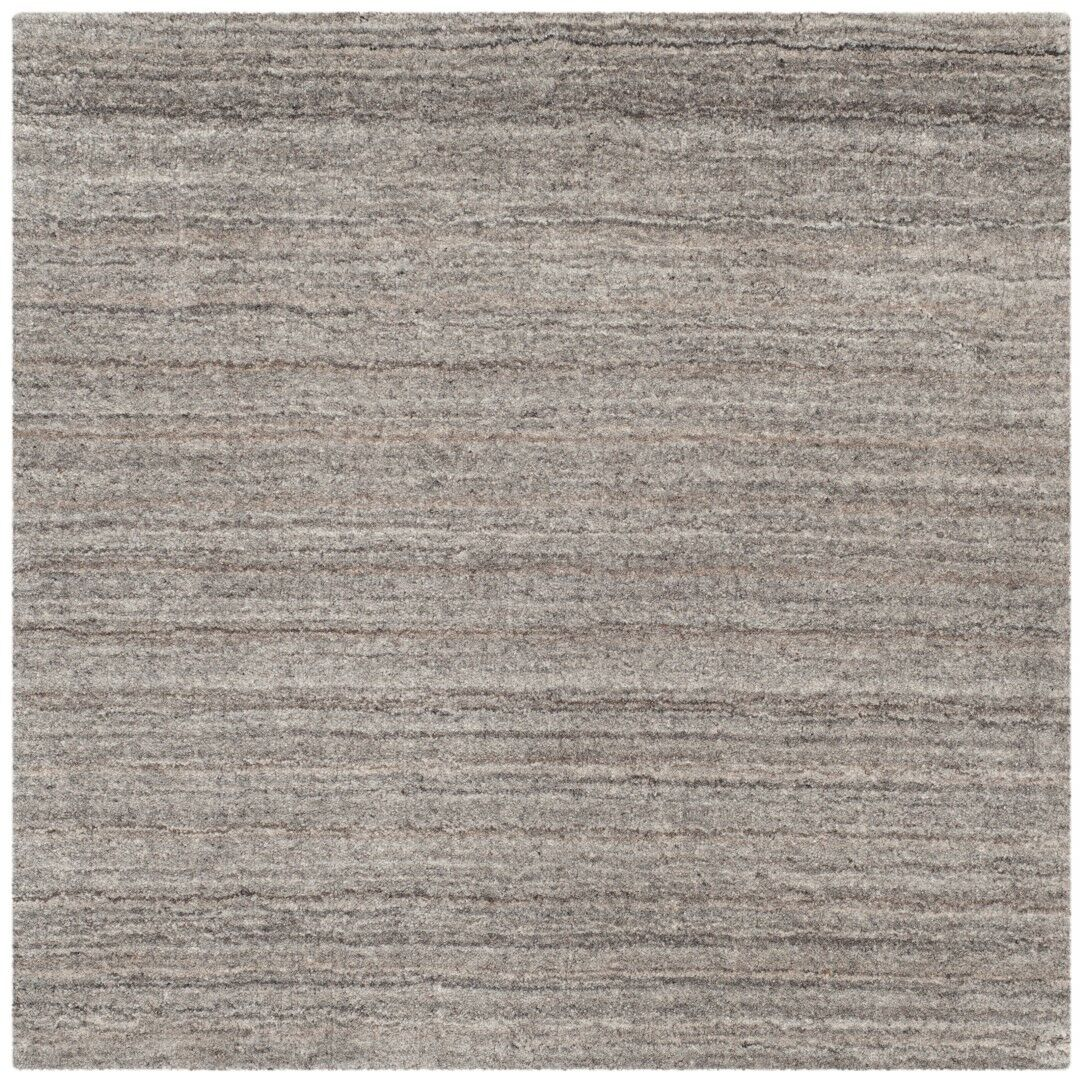 Wald Hand-Woven Stone Area Rug Rug Size: Rectangle 8' x 10'