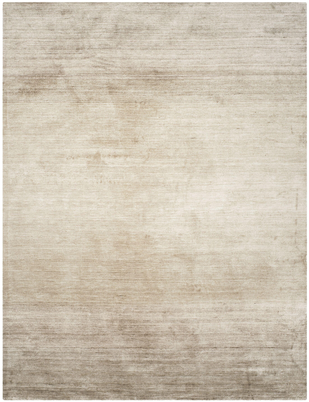 Wald Hand-Woven Gray Area Rug Rug Size: Rectangle 9' x 12'