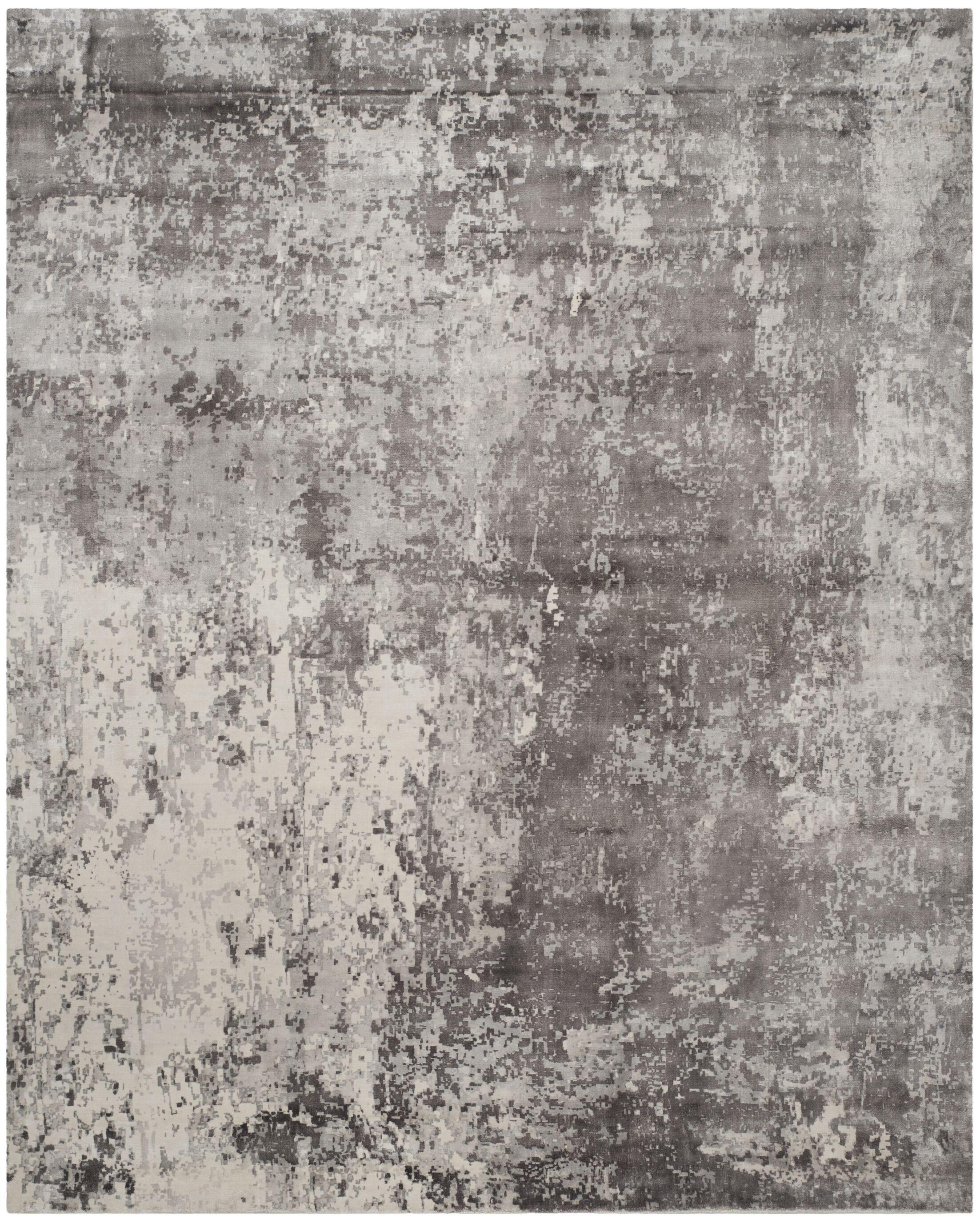 Flanigan Gray Area Rug Rug Size: Rectangle 9' x 12'