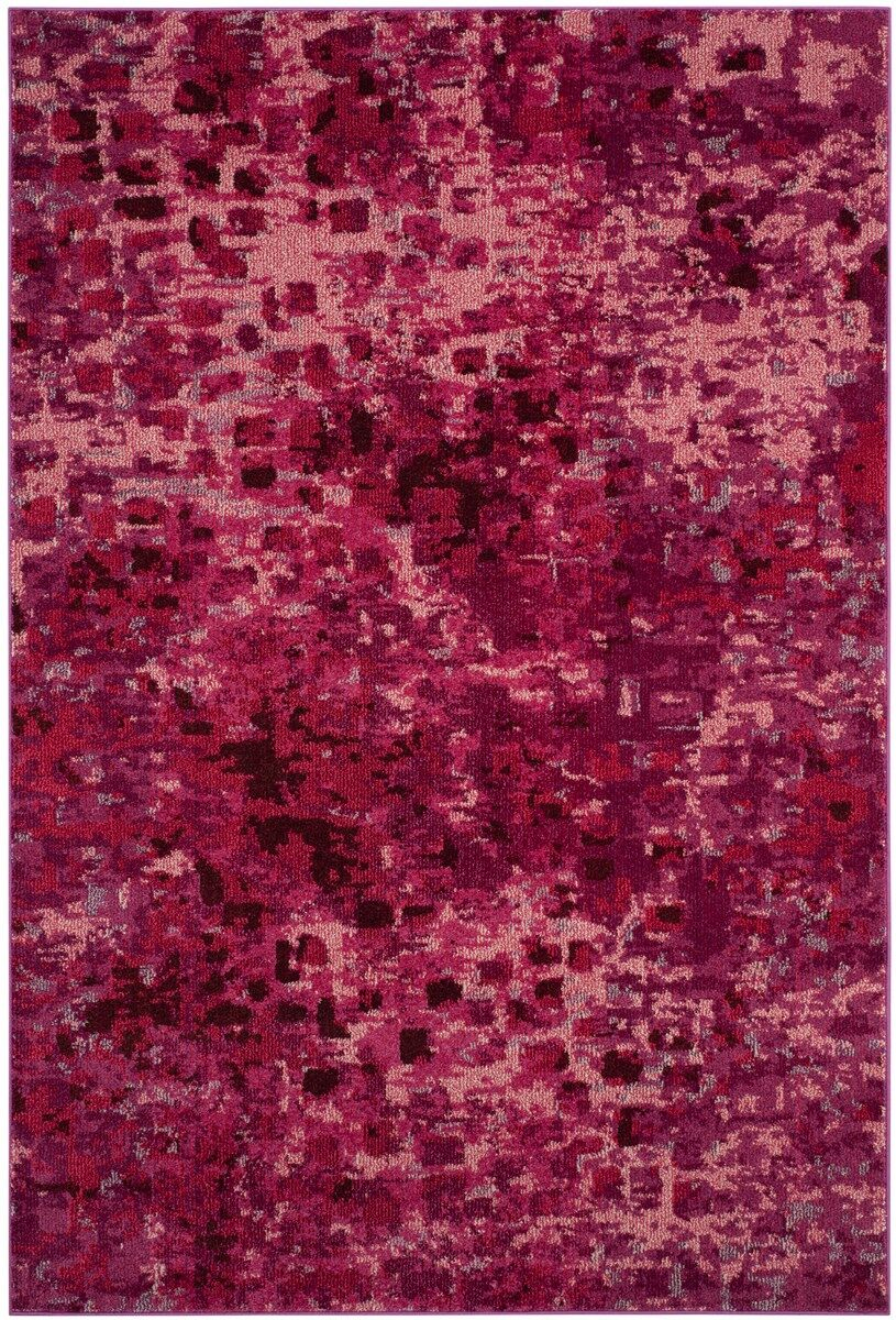 Annabel Red Area Rug Rug Size: Rectangle 8' x 10'