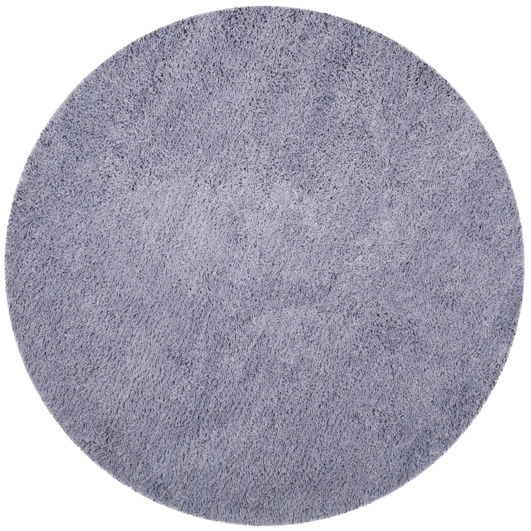 Starr Hill Hand-Woven Purple Area Rug Rug Size: Round 4'