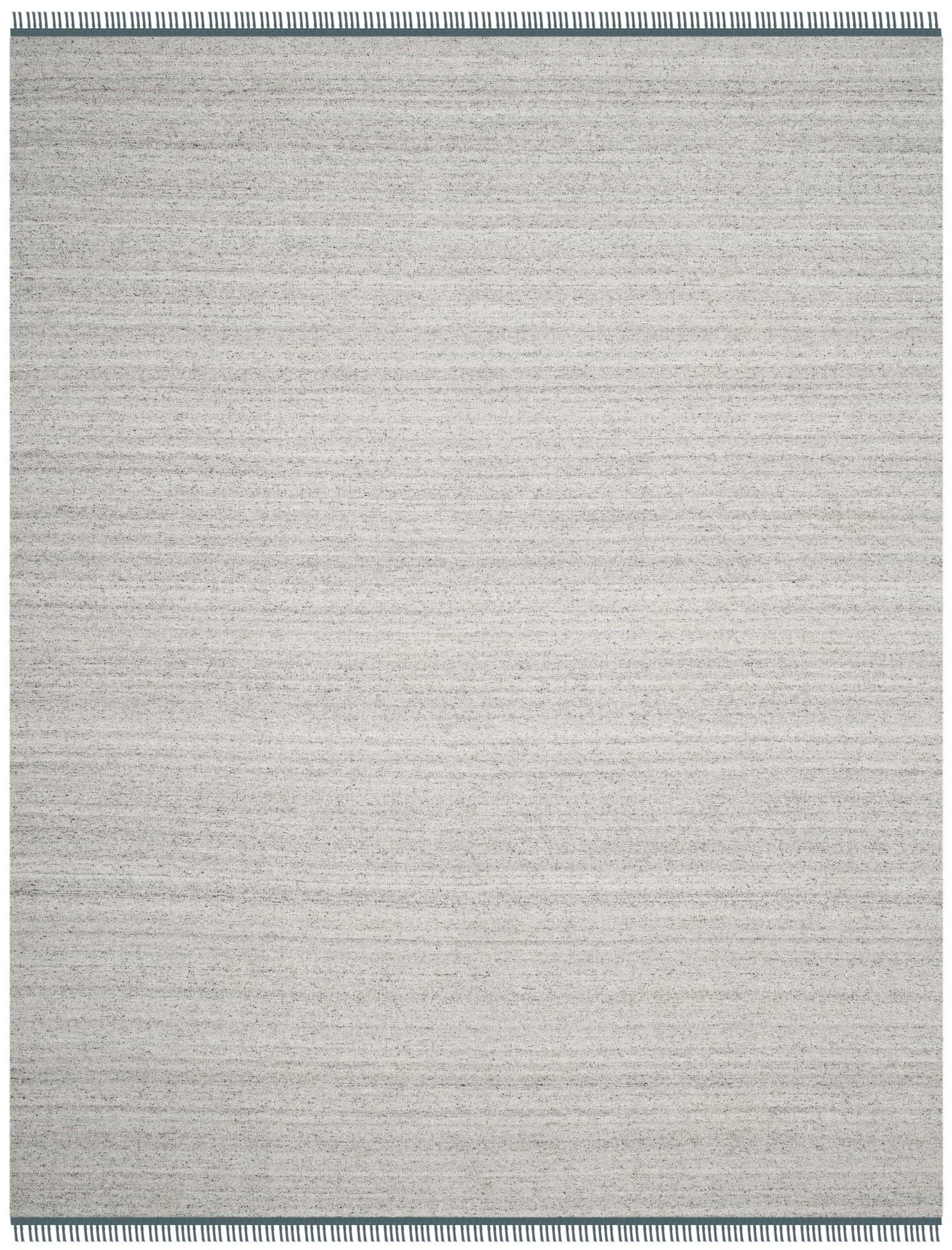Sojourn Hand-Woven Gray/Blue Area Rug Rug Size: Rectangle 8' x 10'