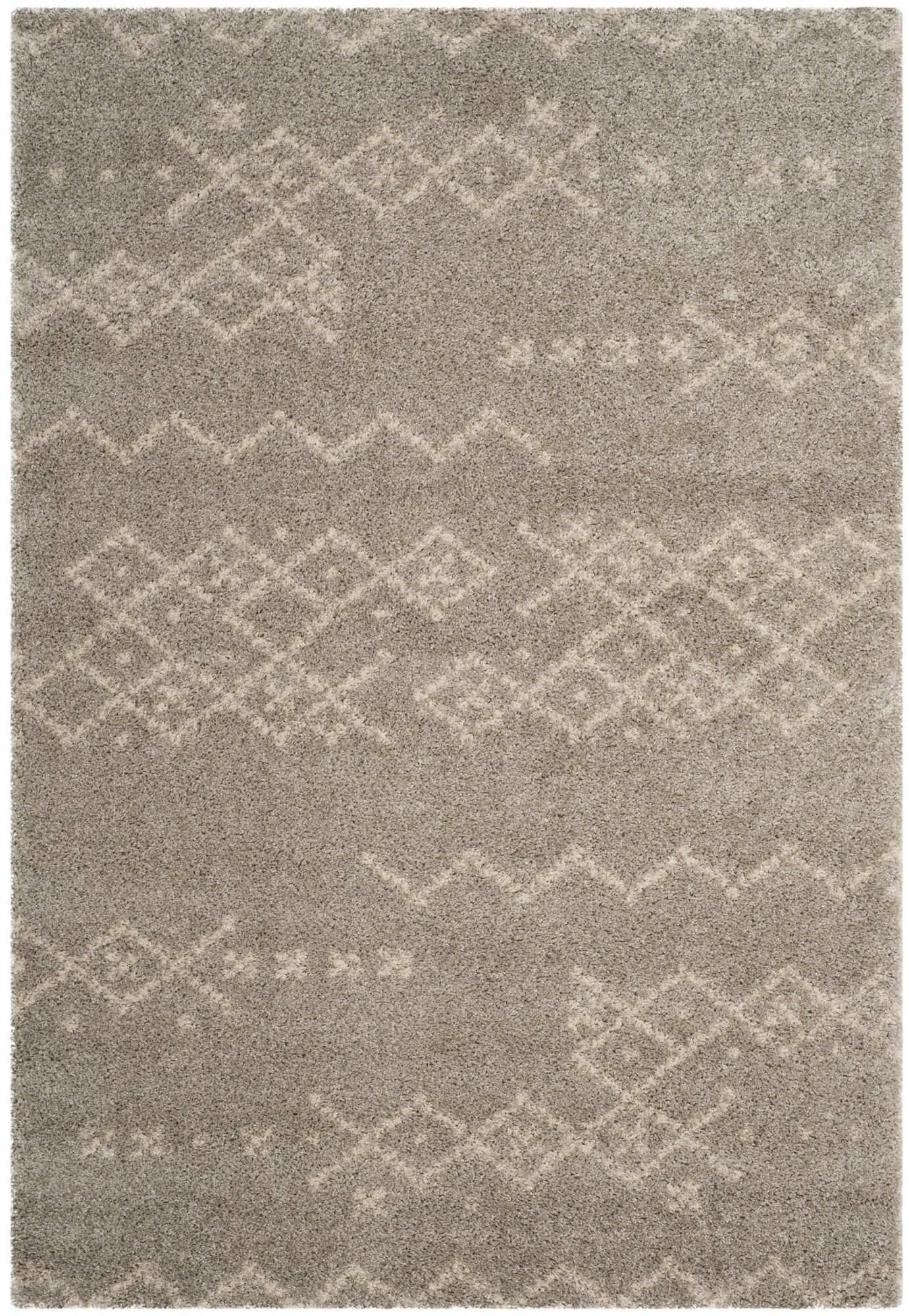 Amicus Brown Area Rug Rug Size: Rectangle 4' x 6'