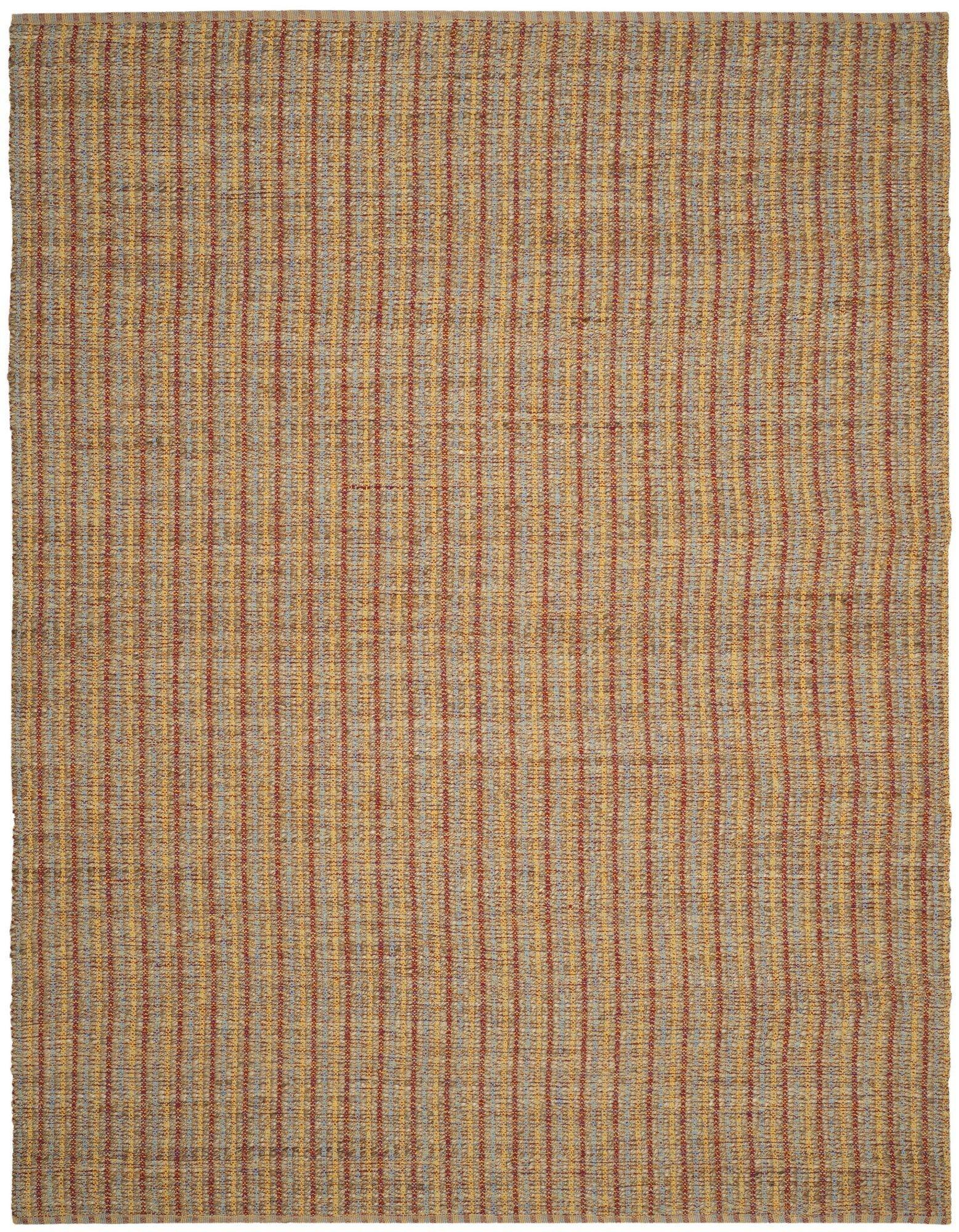 Bowen Hand-Woven Orange/Brown Area Rug Rug Size: Rectangle 8' x 10'