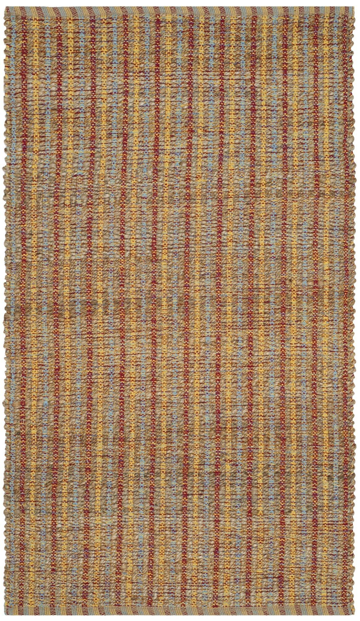Bowen Hand-Woven Orange/Brown Area Rug Rug Size: Rectangle 5' x 8'
