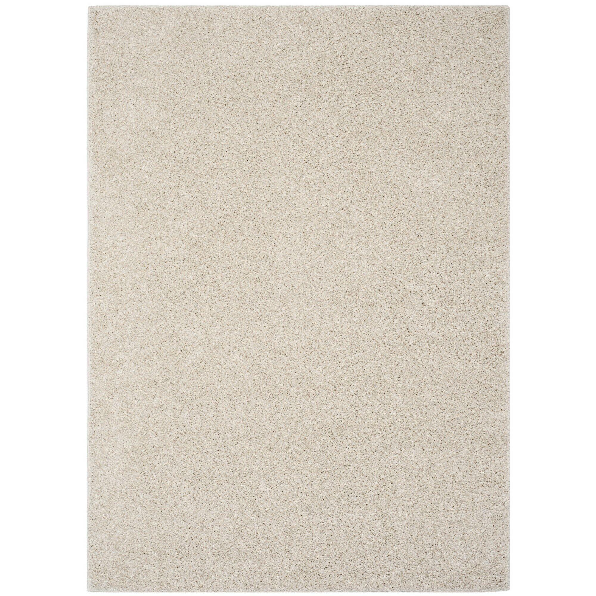 Helsel Ivory Area Rug Rug Size: Square 6'7