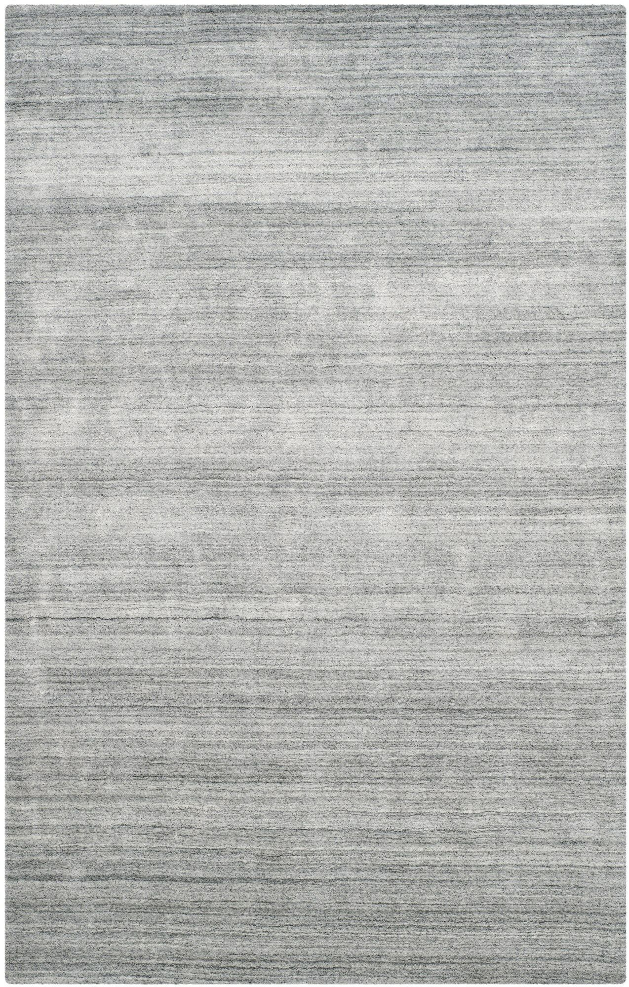 Leontine Hand-Loomed Ivory/Gray Area Rug Rug Size: Rectangle 9' x 12'