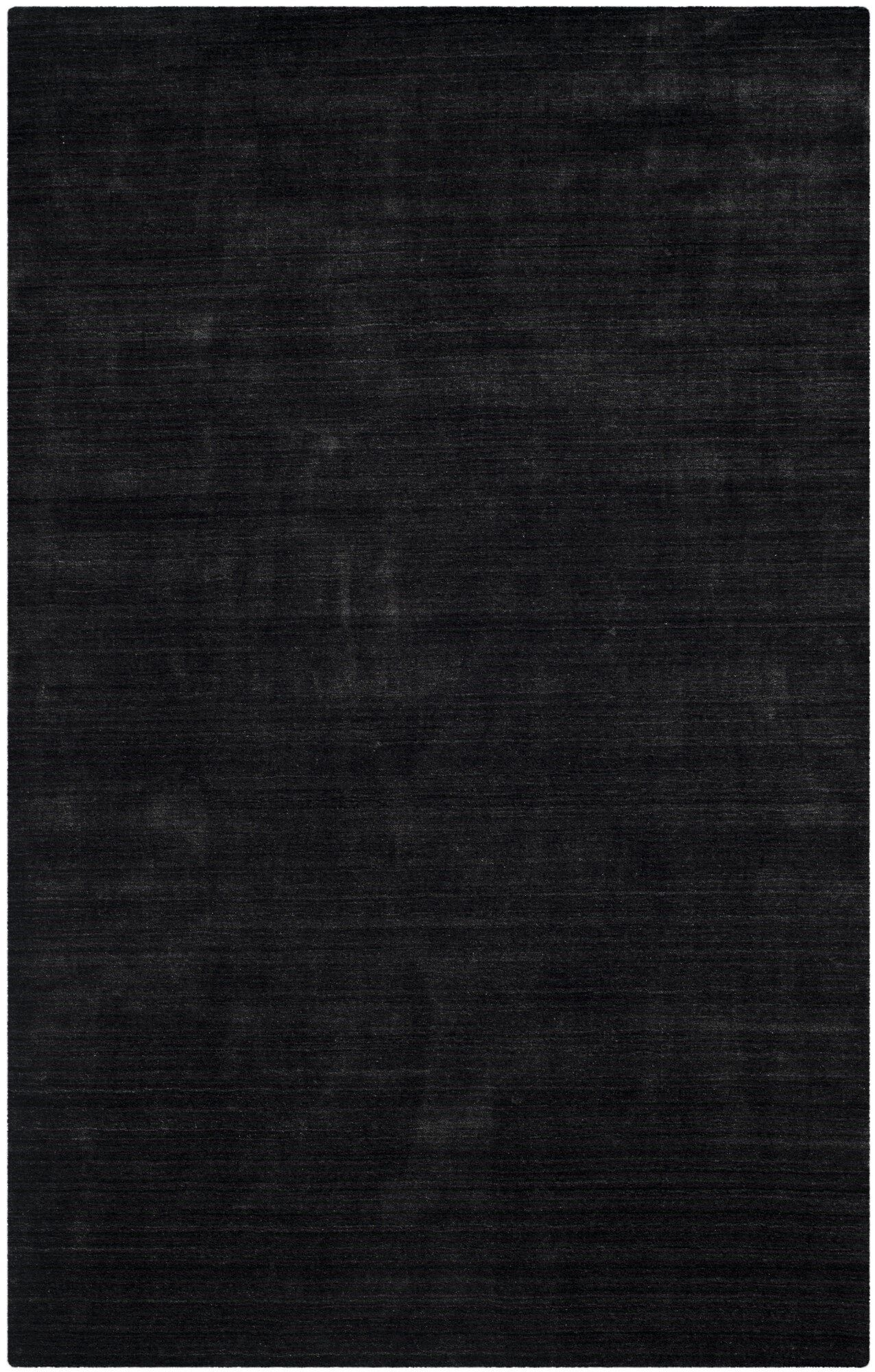 Leontine Hand-Loomed Gray Area Rug Rug Size: Rectangle 9' x 12'