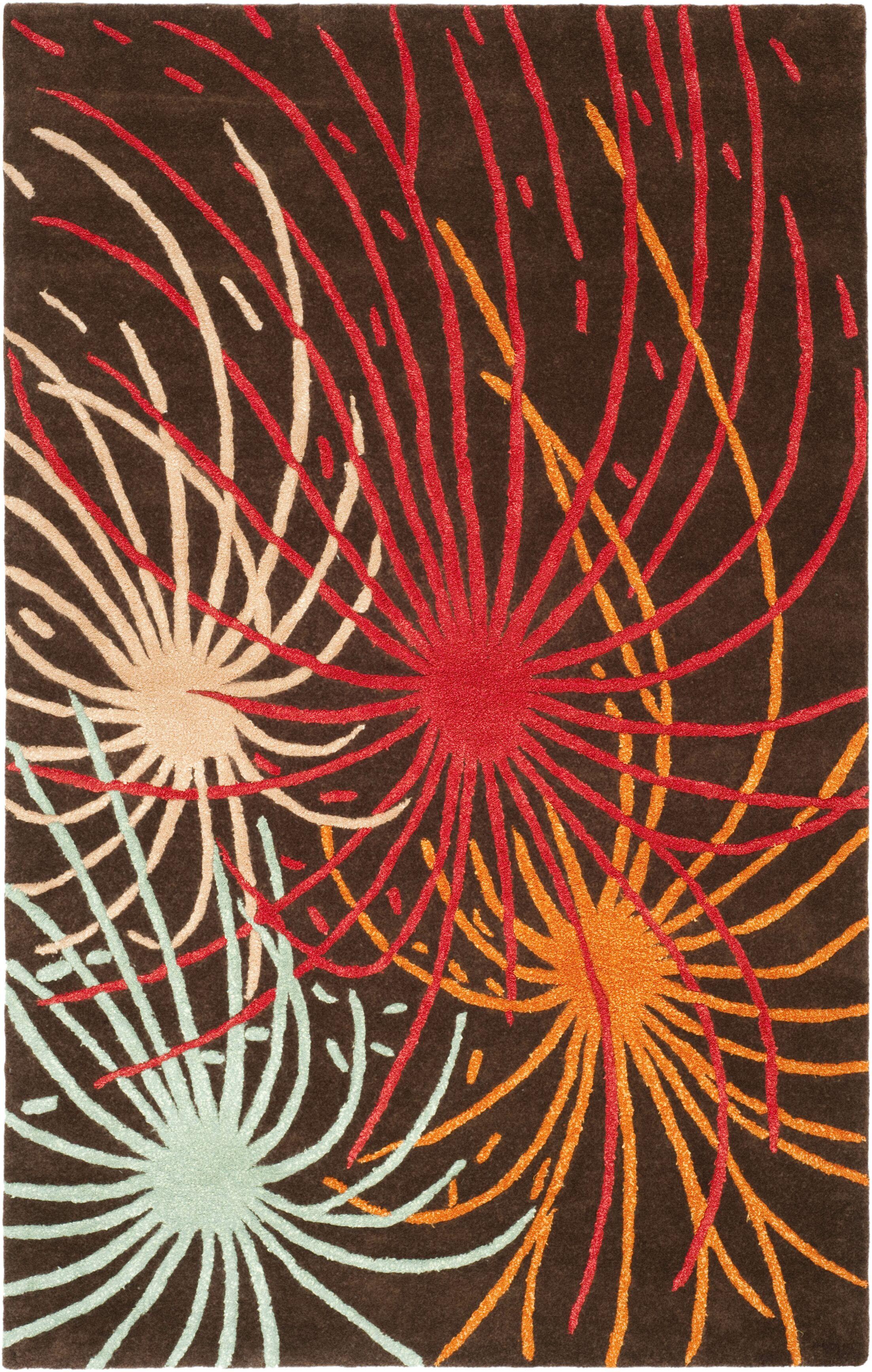 Lockwood Light Brown Area Rug Rug Size: Rectangle 5' x 8'