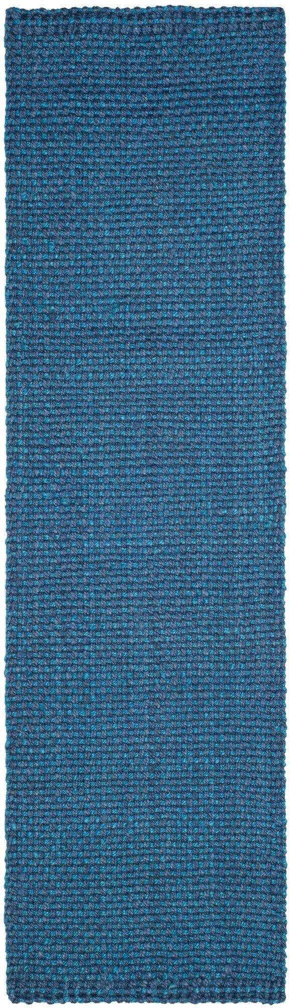 Emery Hand-Woven Blue Area Rug Rug Size: Runner 2'3