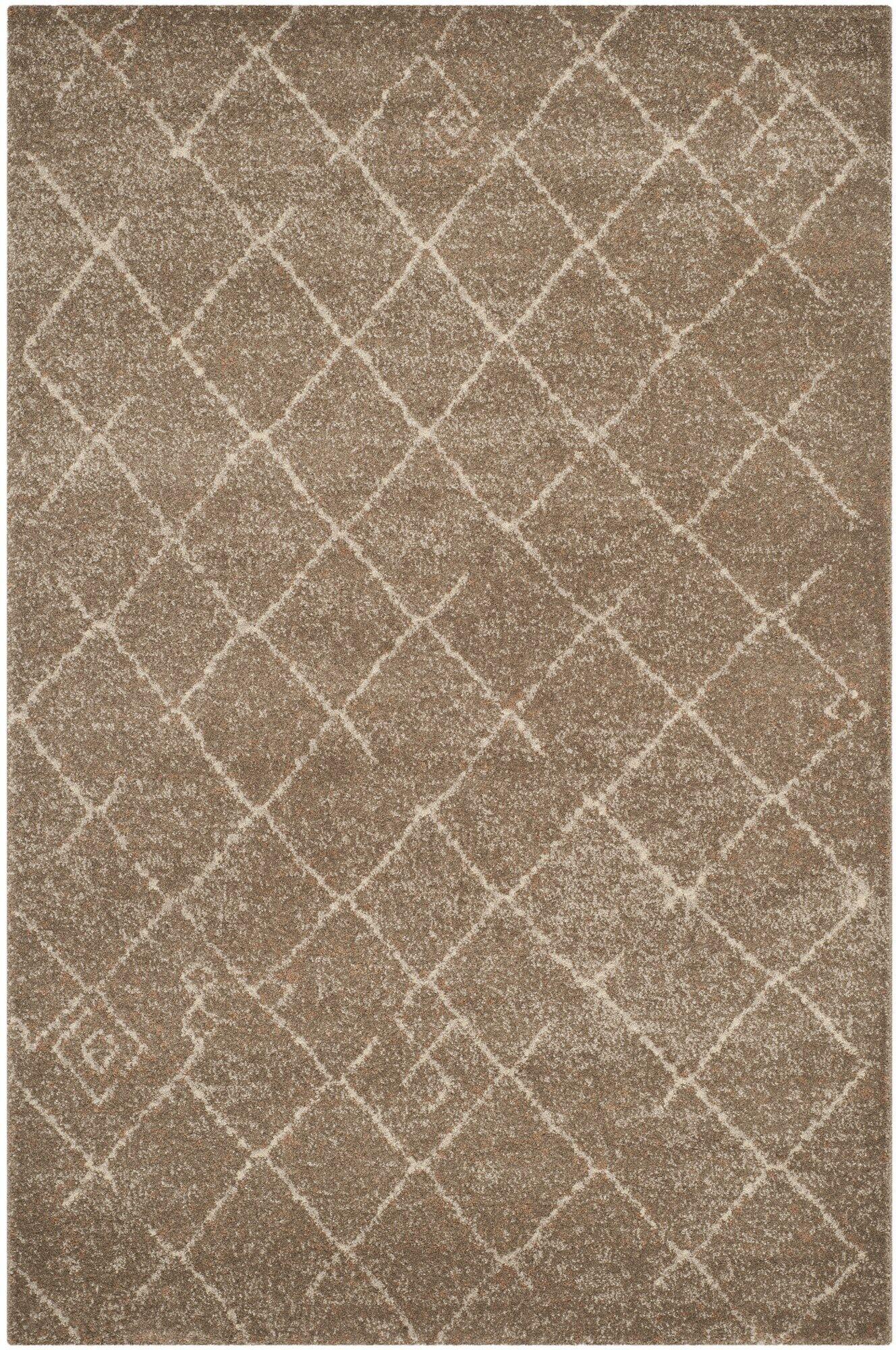 Bennett Brown Area Rug Rug Size: Rectangle 9' x 12'