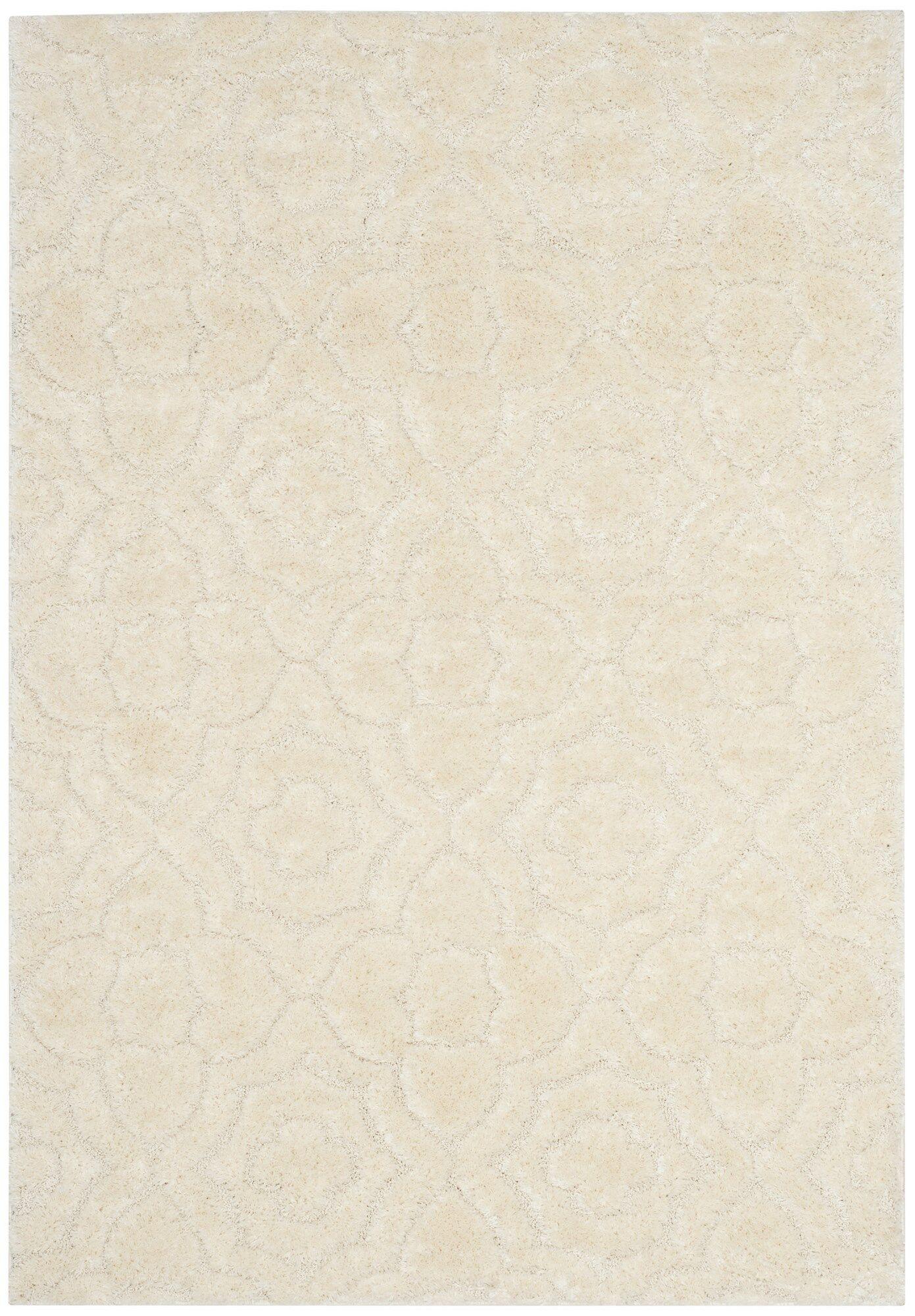 Stonybrook Cream Area Rug Rug Size: Rectangle 5'1