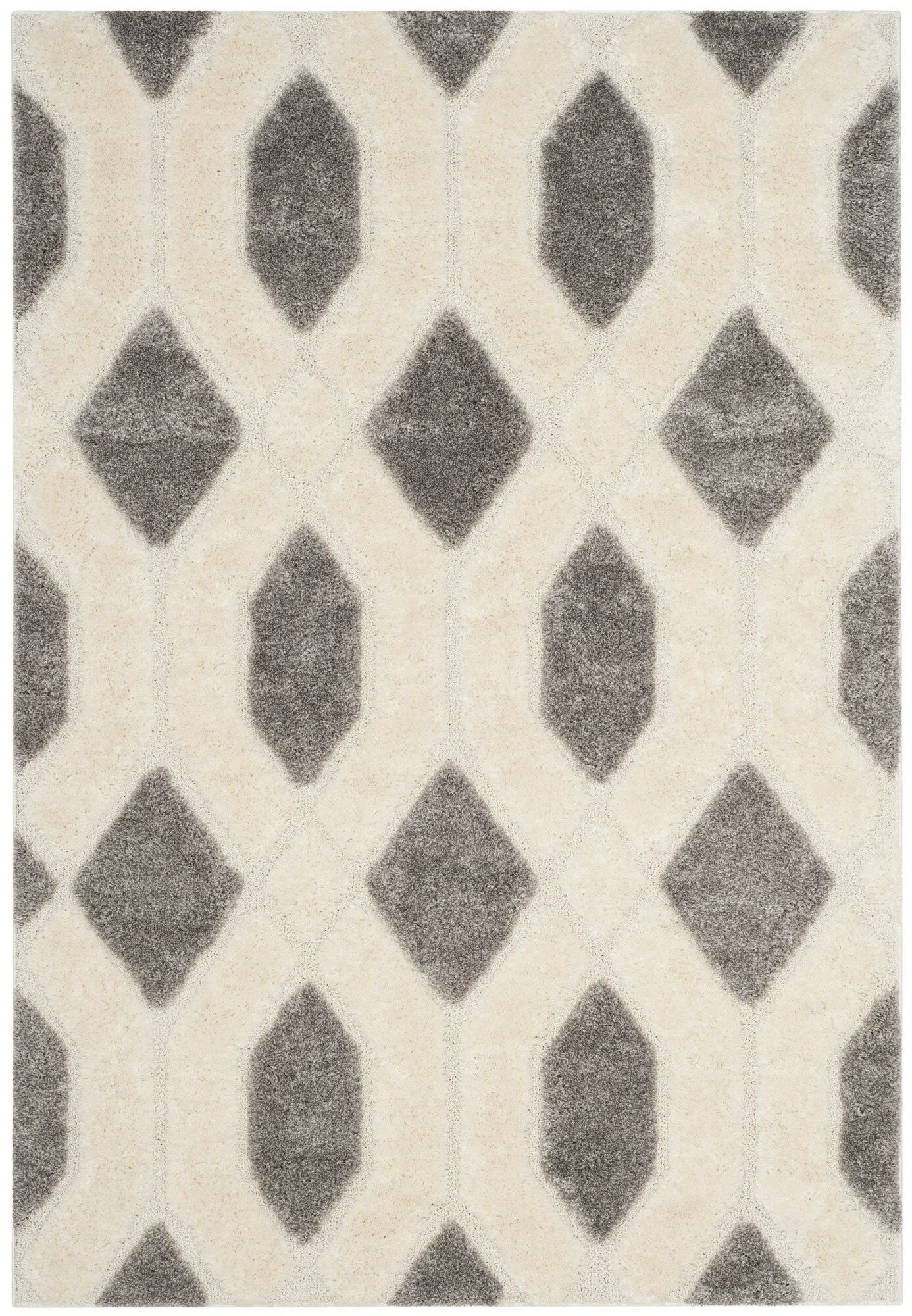Archway Gray Area Rug Rug Size: Rectangle 8' x 10'