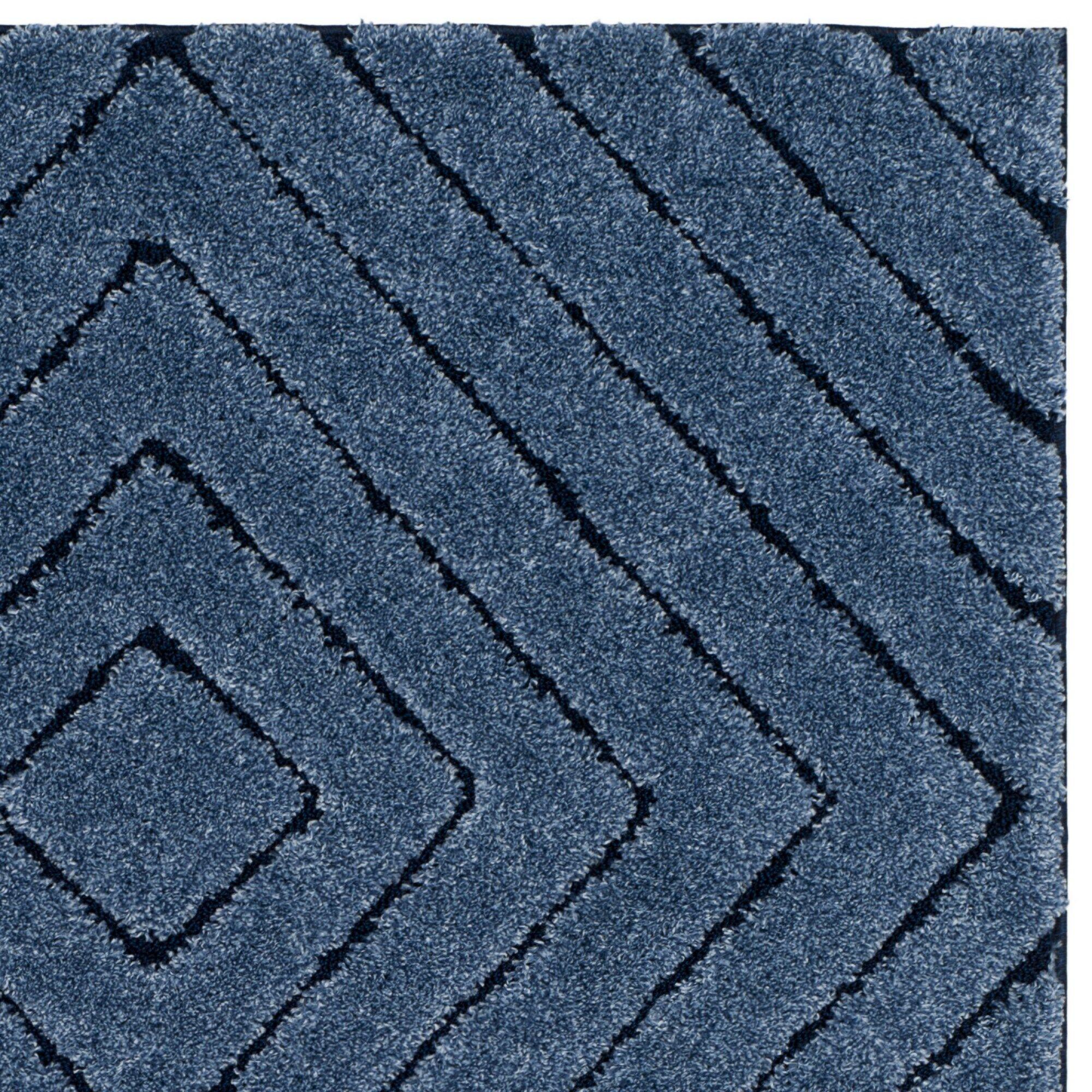 Wideman Navy Area Rug Rug Size: Rectangle 8' x 10'