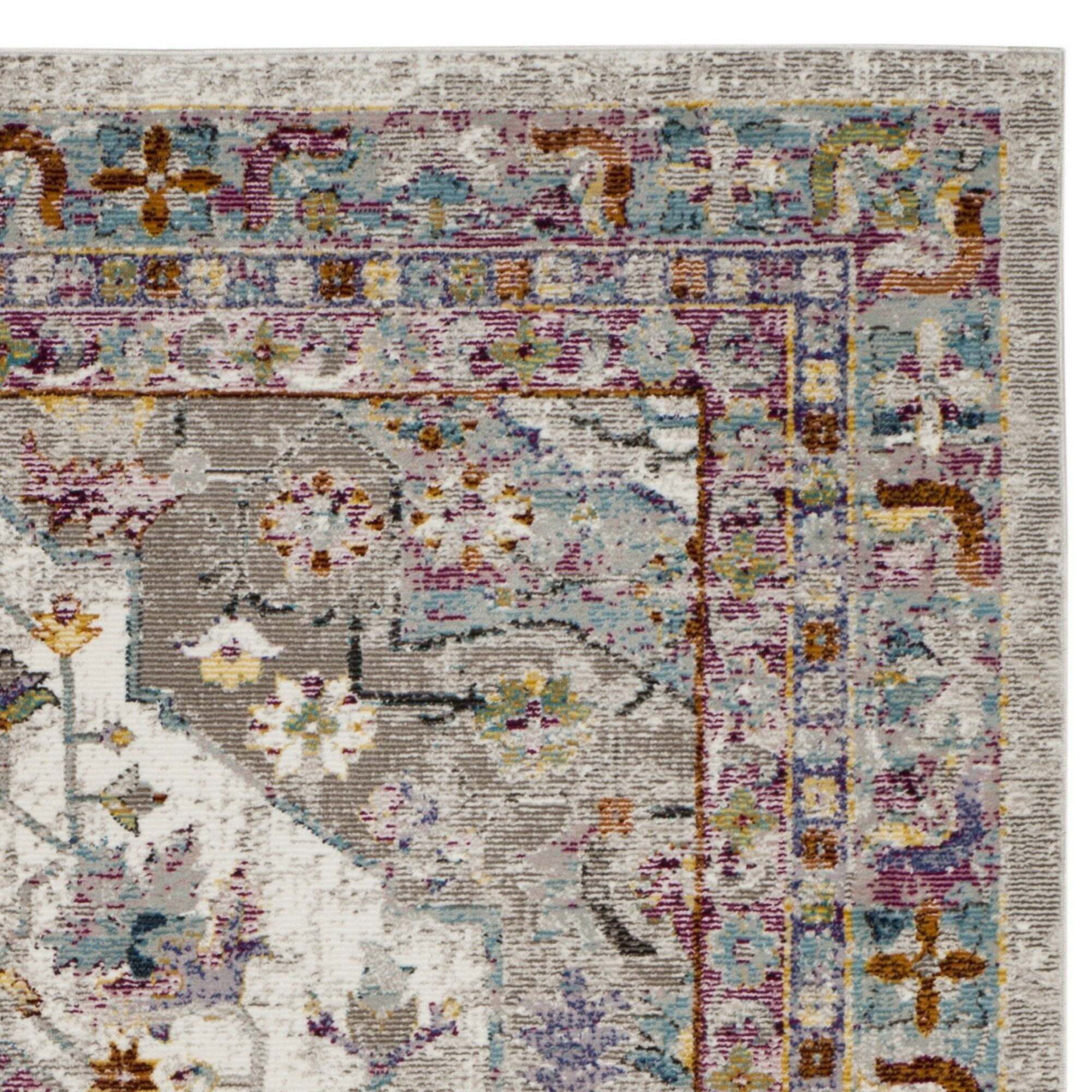 Monserrat Cream Area Rug Rug Size: Rectangle 9' x 12'