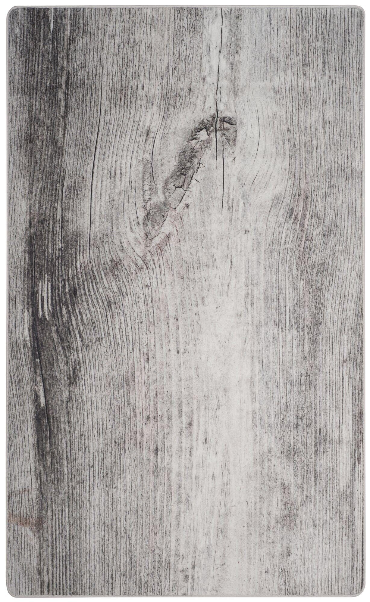 Camila Power Loom Gray Area Rug Rug Size: Rectangle 4' x 6'