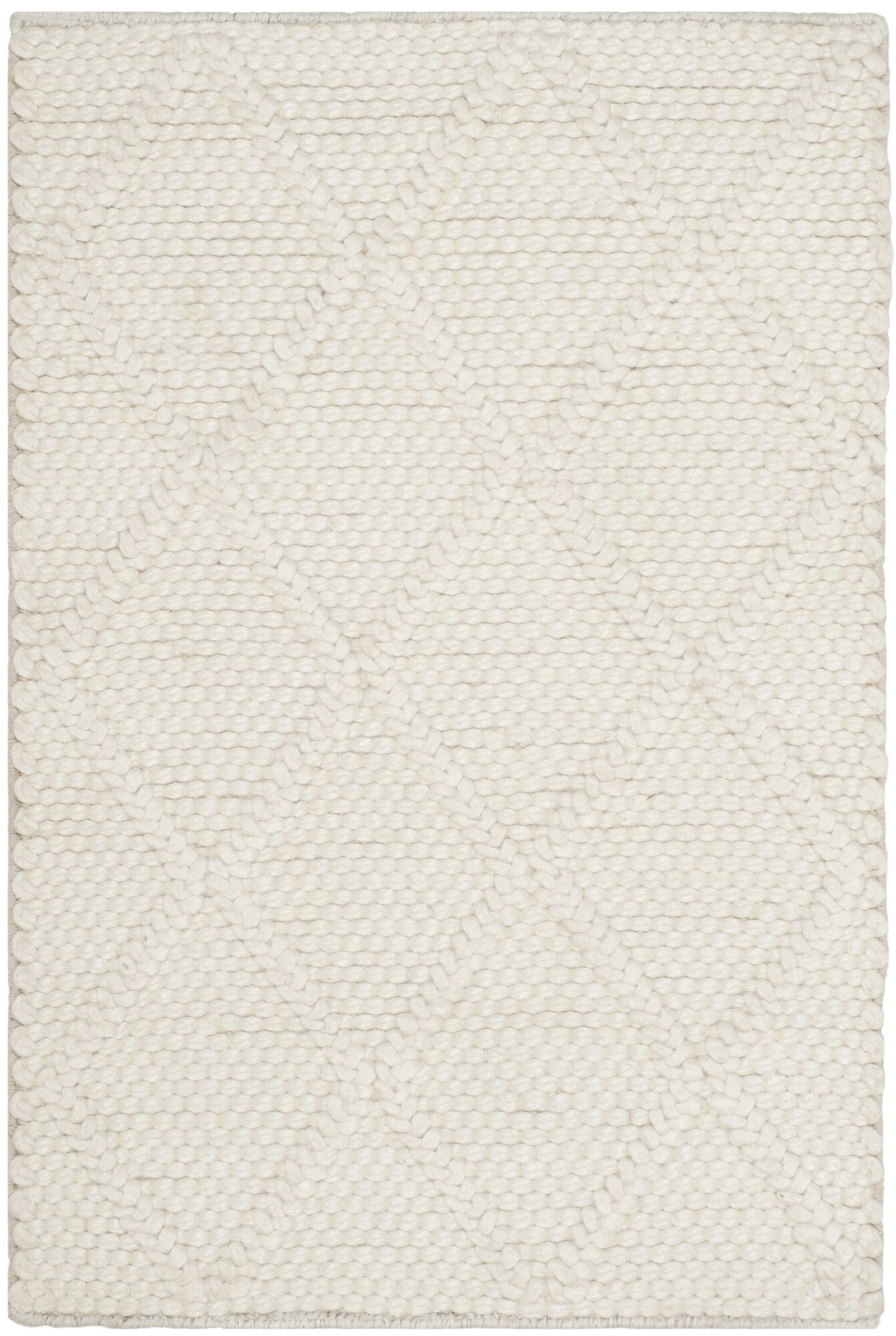 Millie Hand Woven Ivory Area Rug Rug Size: Rectangle 8' x 10'