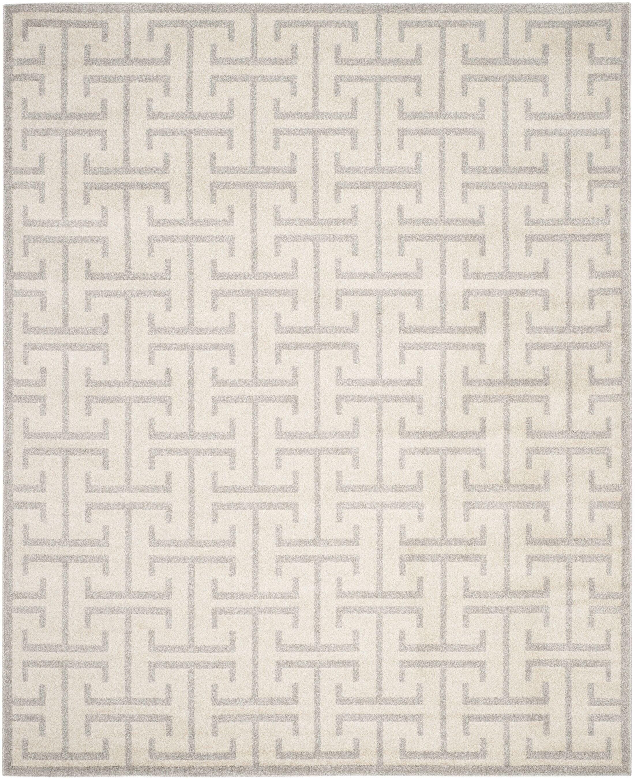 Fehi Ivory Area Rug Rug Size: Rectangle 8' x 10'