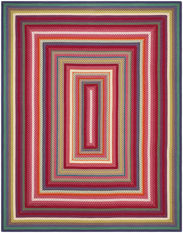 Paulina Hand Tufted Pink Area Rug Rug Size: Rectangle 8' x 10'