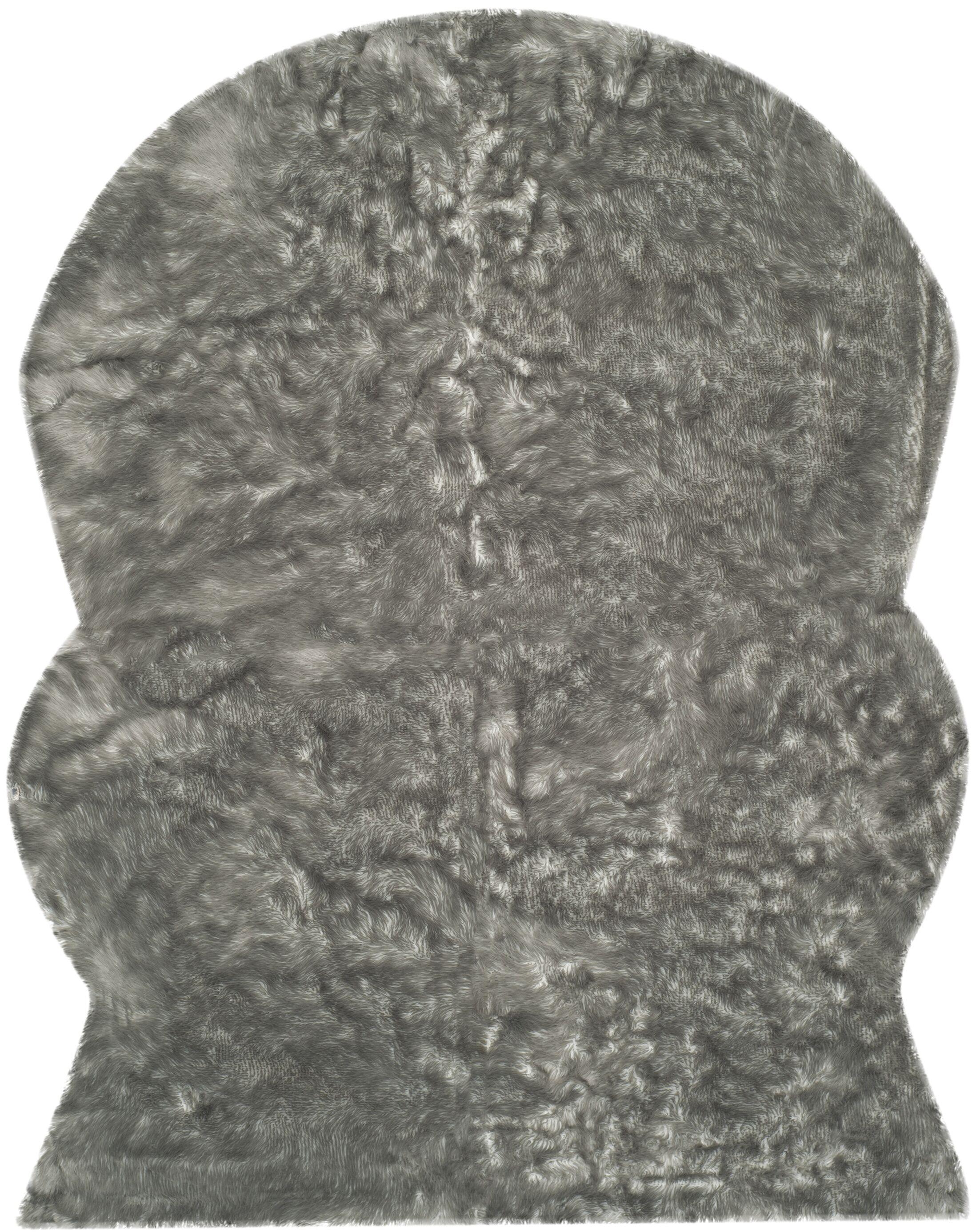 Brennan Dark Gray Area Rug Rug Size: Rectangle 8' x 10'