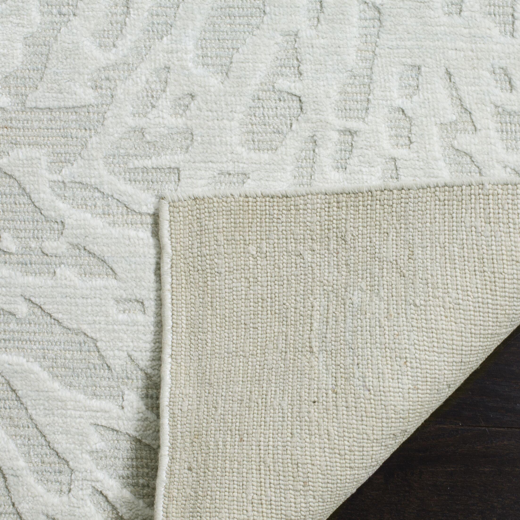 Juhi Hand Tufted Light Gray Area Rug Rug Size: Rectangle 8' x 10'